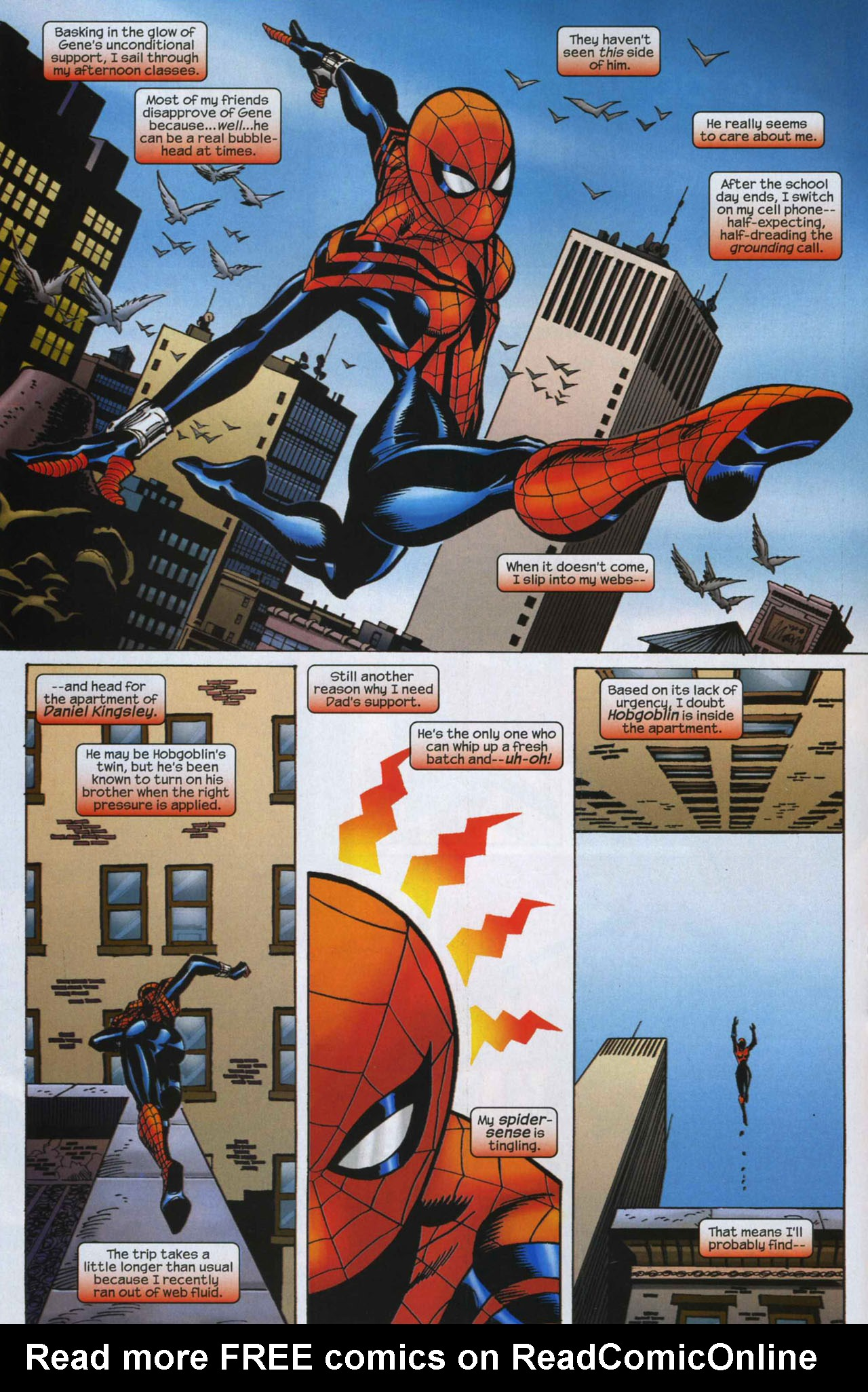 Read online Amazing Spider-Girl comic -  Issue #7 - 14