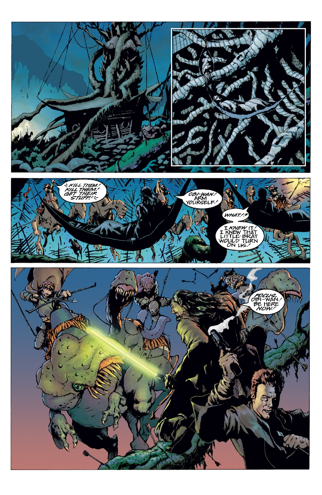 Read online Star Wars Legends: Rise of the Sith - Epic Collection comic -  Issue # TPB 1 (Part 3) - 16