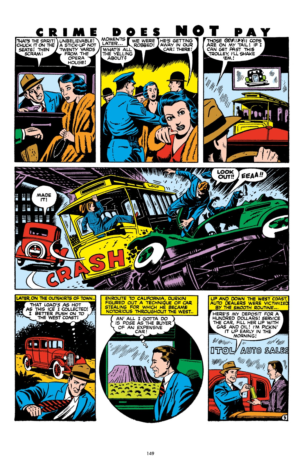 Read online Crime Does Not Pay Archives comic -  Issue # TPB 8 (Part 2) - 50