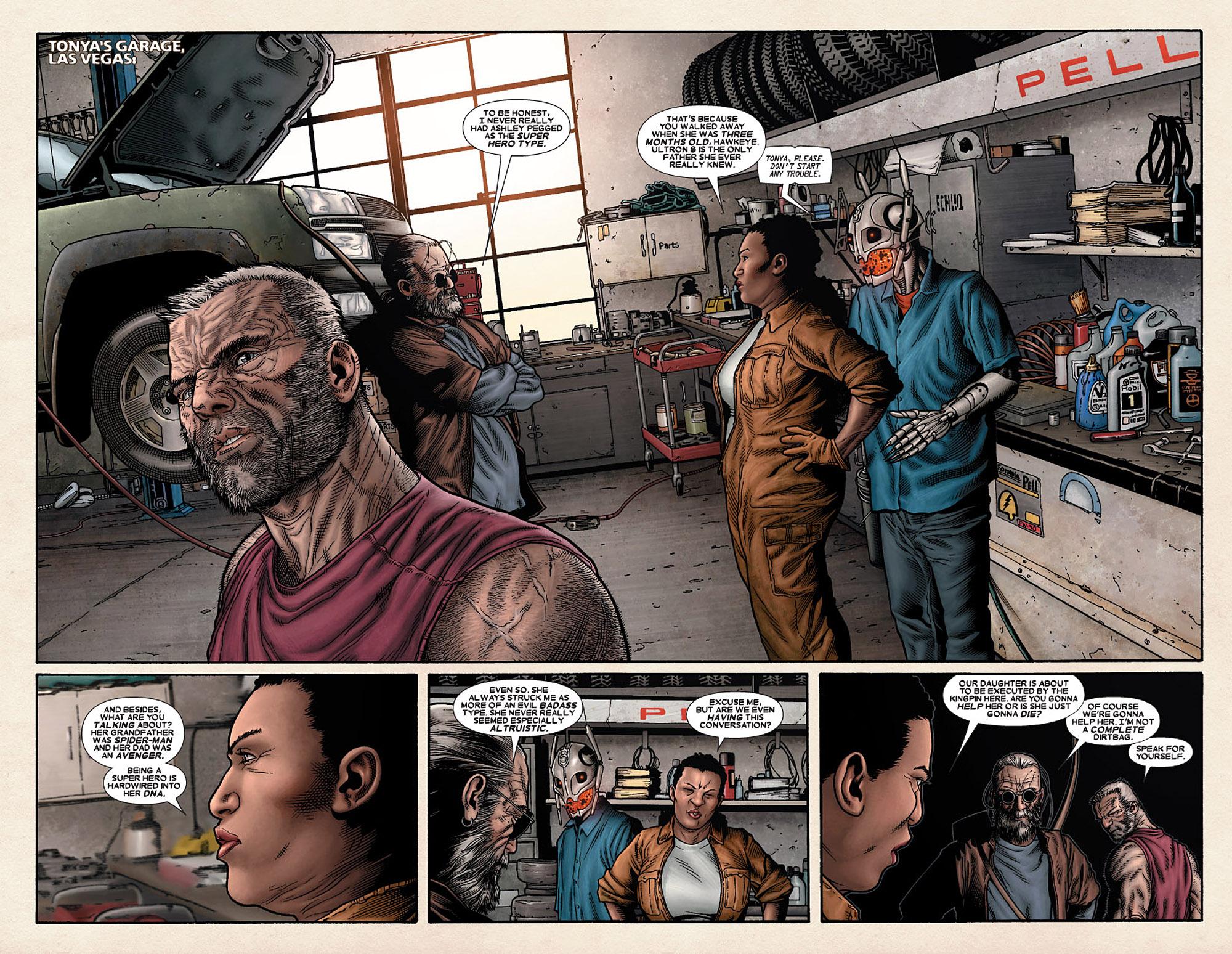 Read online Wolverine: Old Man Logan comic -  Issue # Full - 50