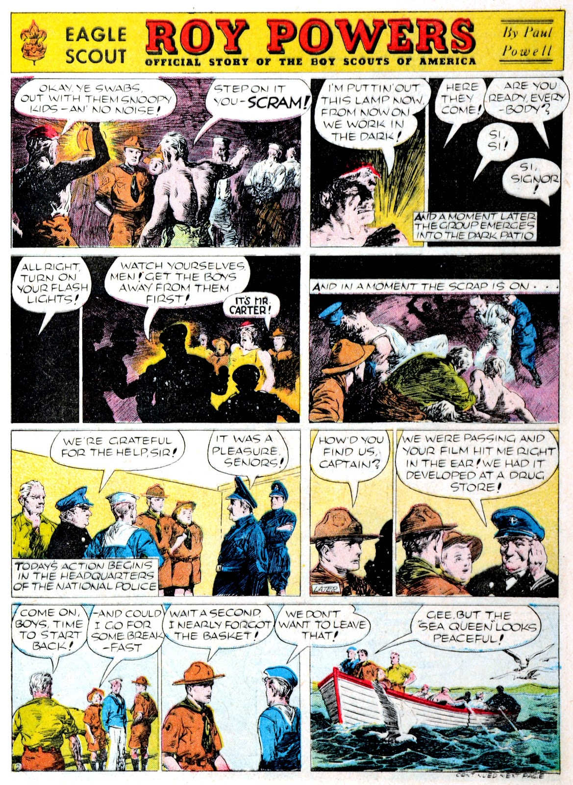 Read online Famous Funnies comic -  Issue #60 - 7