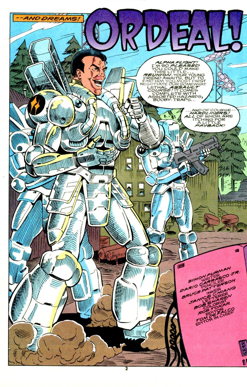 Read online Alpha Flight (1983) comic -  Issue #129 - 25