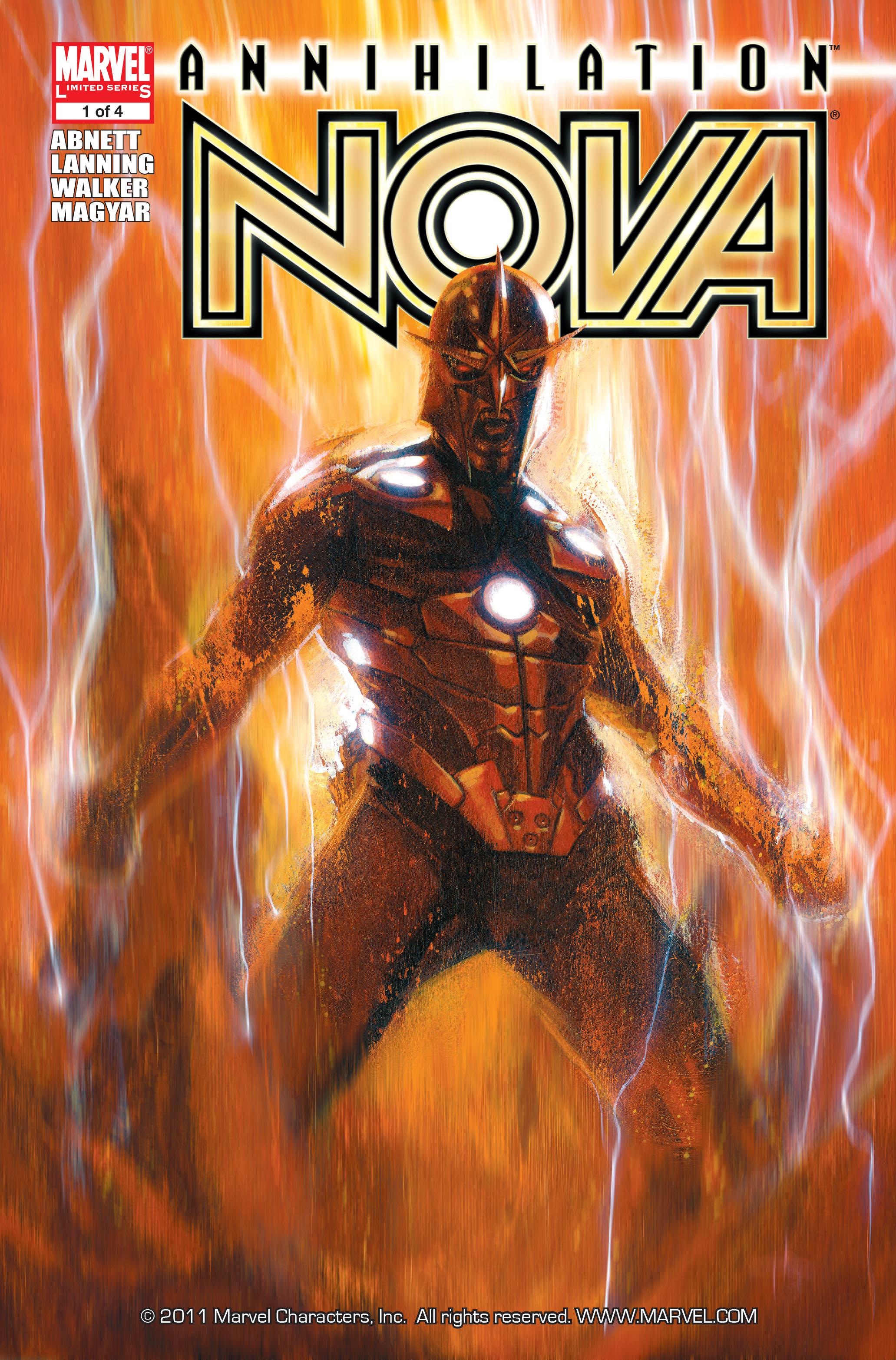 Read online Annihilation: Nova comic -  Issue #1 - 1
