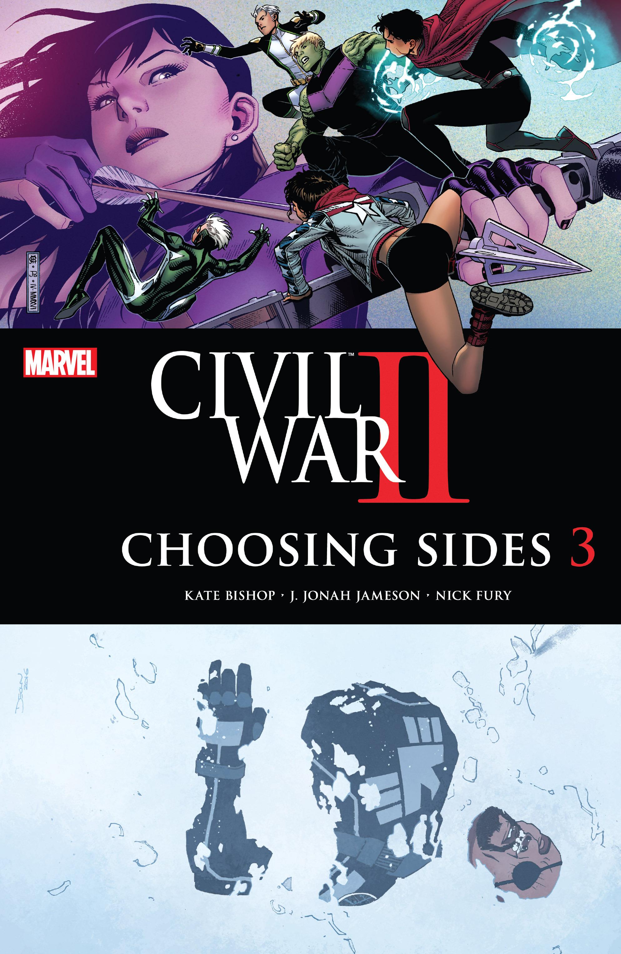 Read online Civil War II: Choosing Sides comic -  Issue #3 - 1