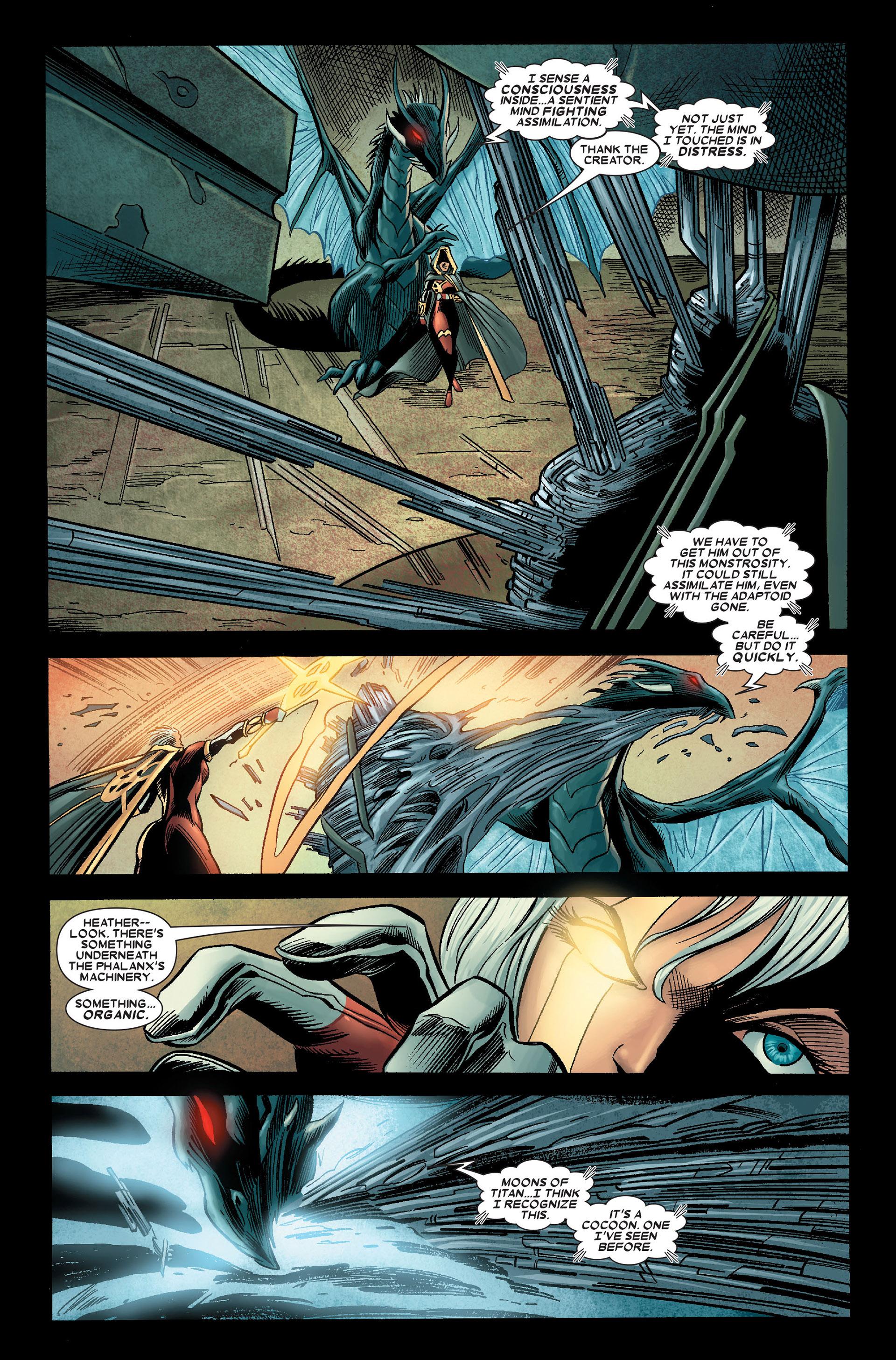 Read online Annihilation: Conquest - Quasar comic -  Issue #4 - 17