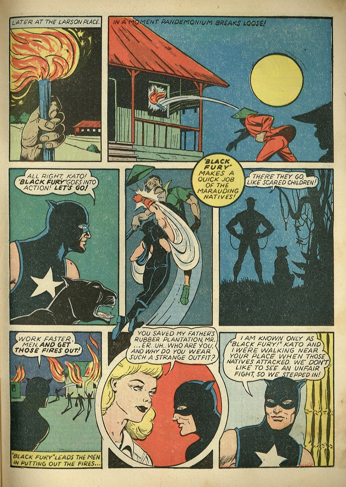 Read online Super-Magician Comics comic -  Issue #1 - 61