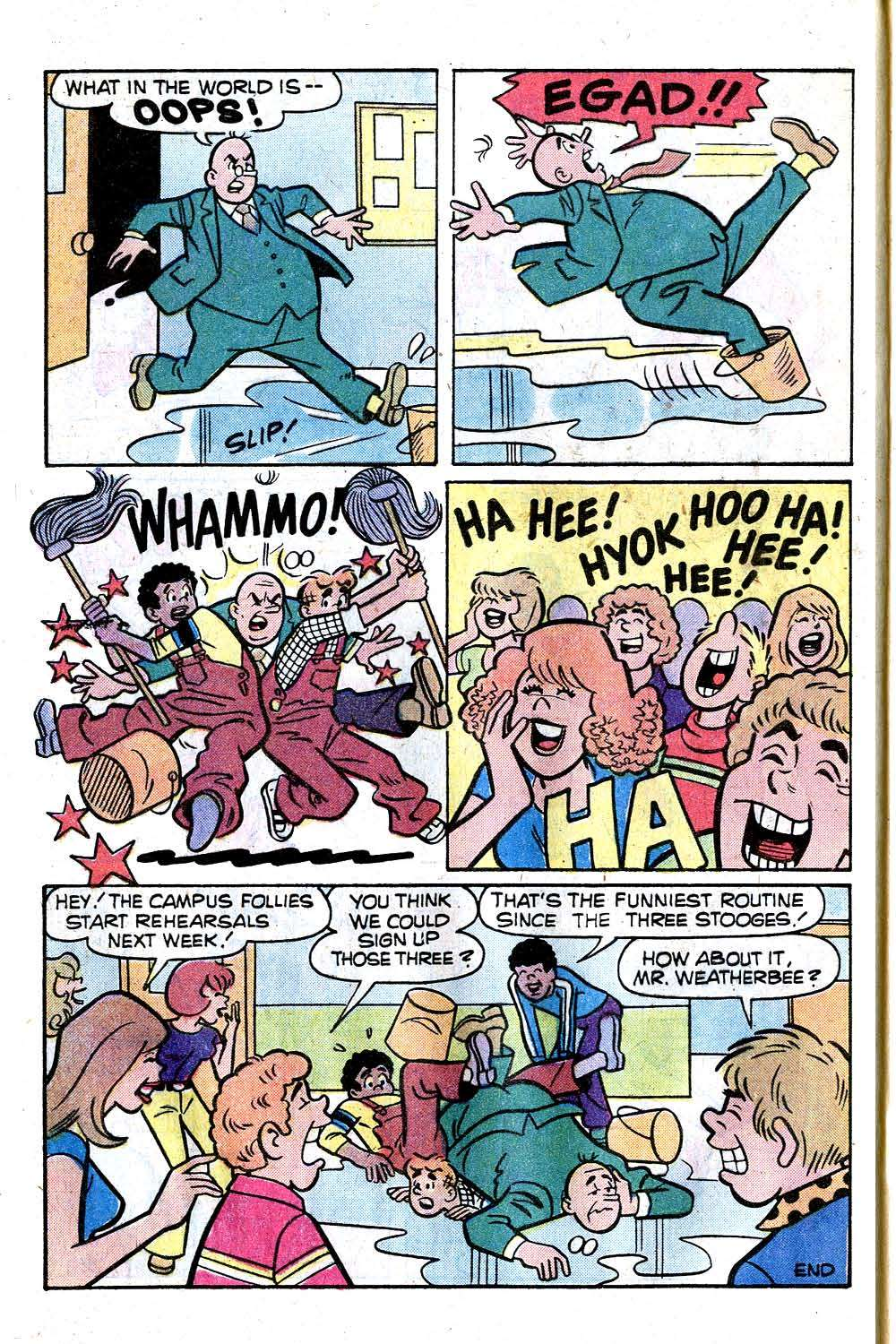 Read online Archie (1960) comic -  Issue #276 - 8