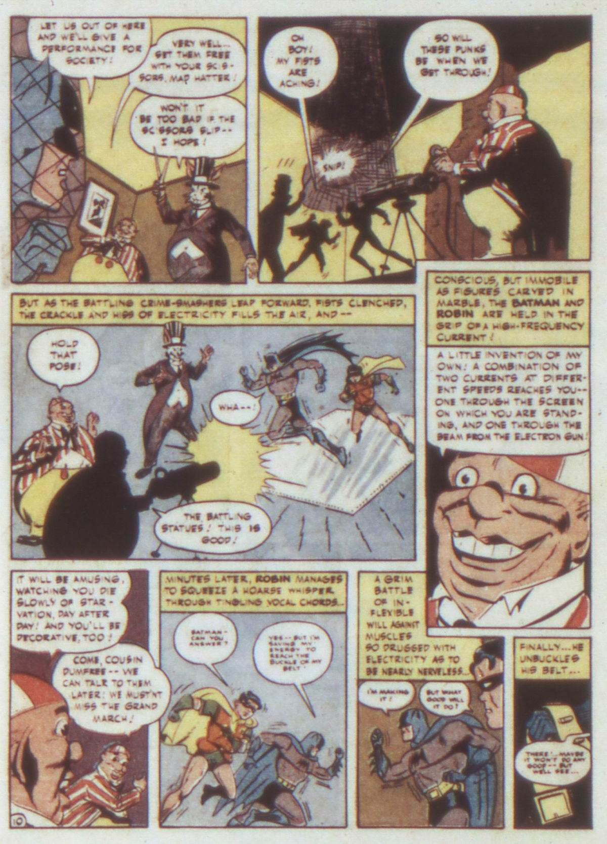 Read online Detective Comics (1937) comic -  Issue #74 - 12
