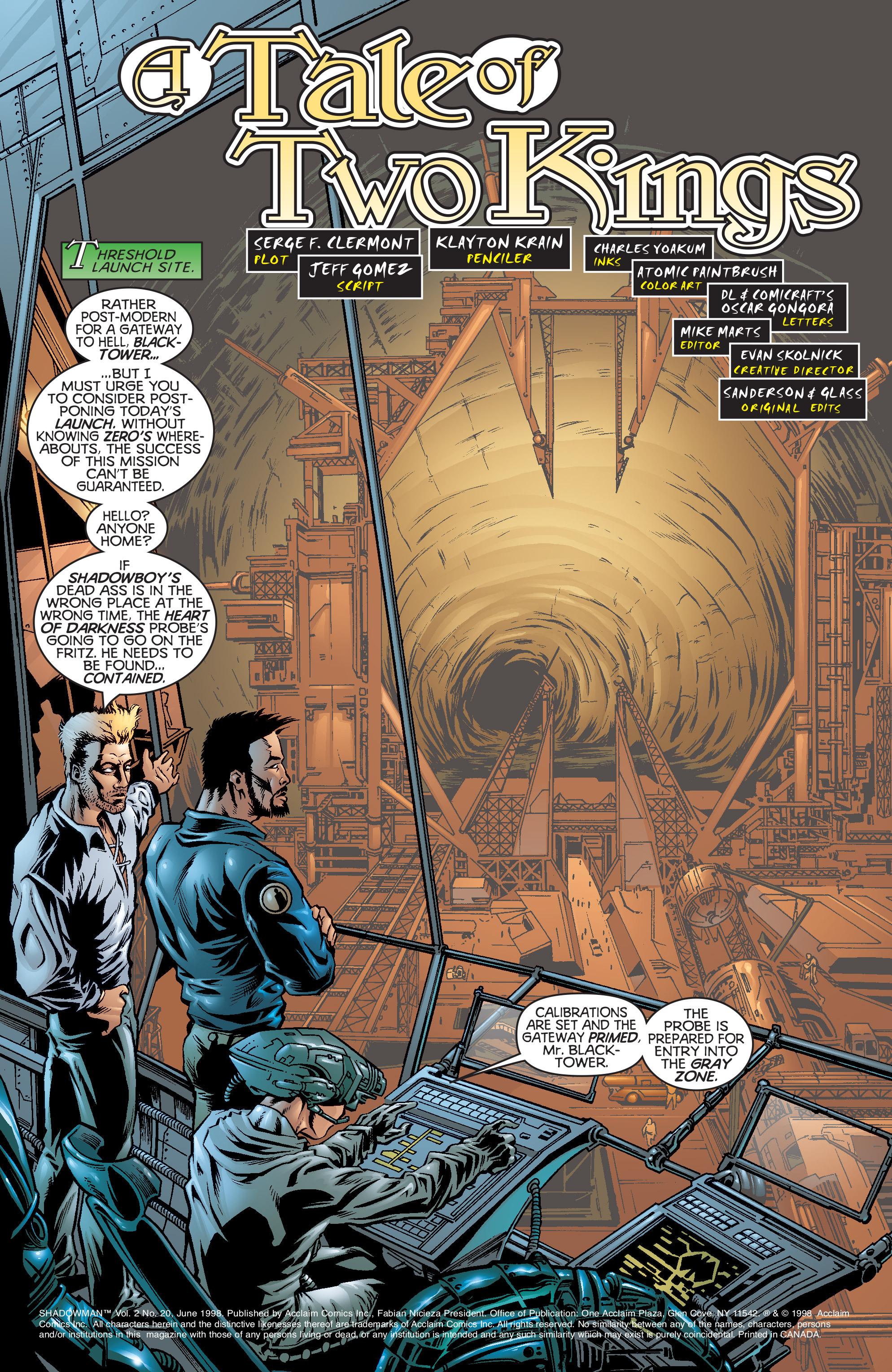 Read online Shadowman (1997) comic -  Issue #20 - 2