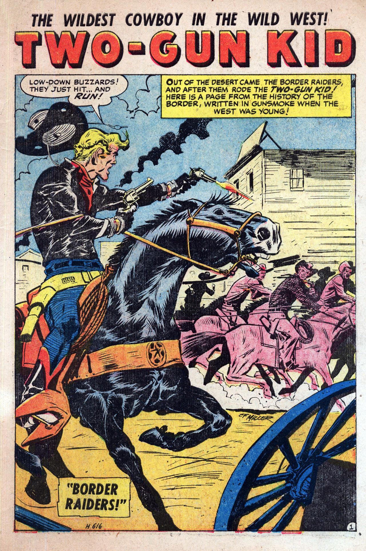 Read online Two-Gun Kid comic -  Issue #30 - 3