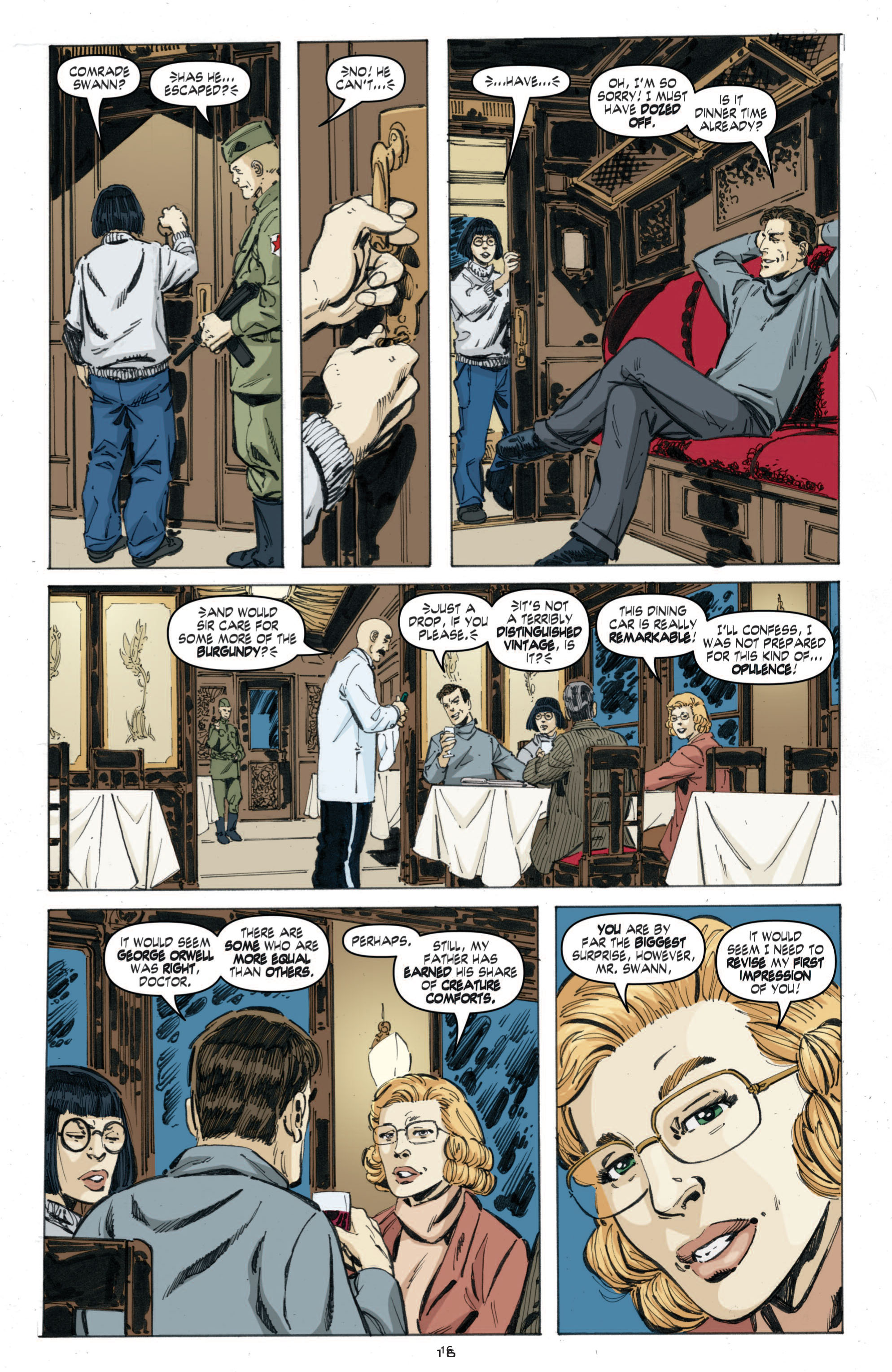 Read online Cold War comic -  Issue # TPB - 74