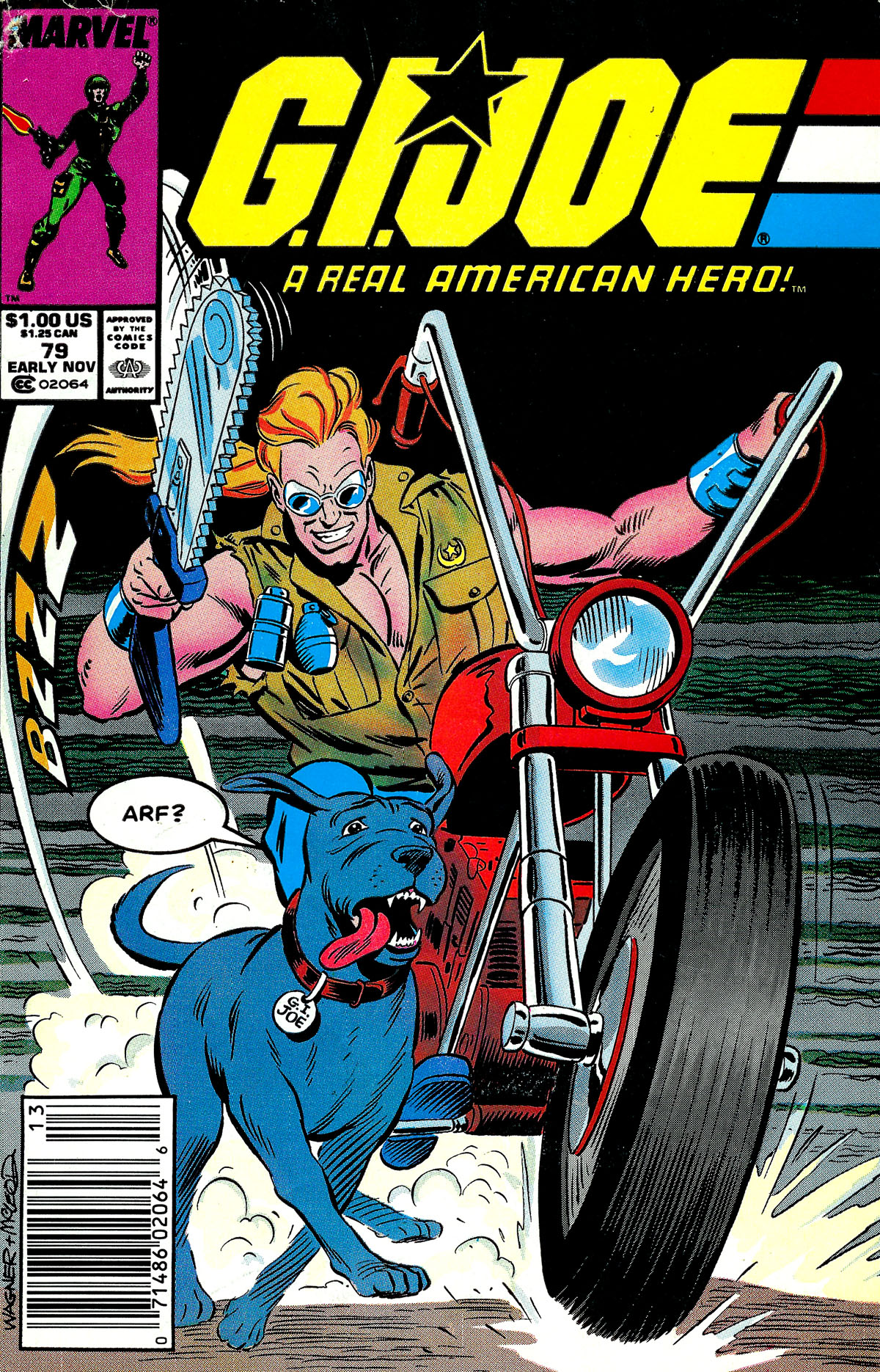 G.I. Joe: A Real American Hero 79 Page 1