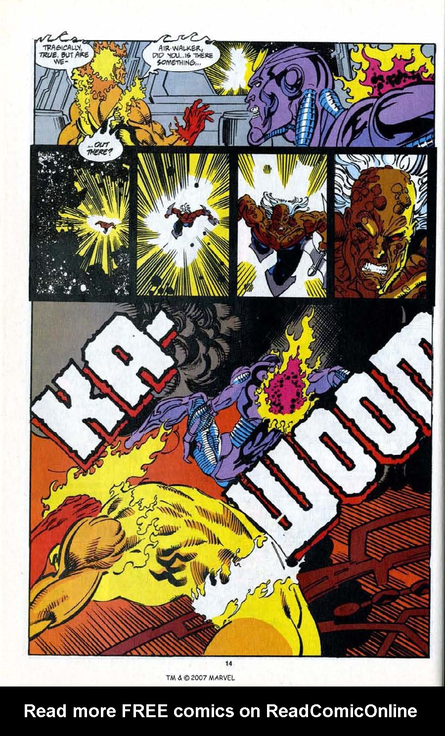 Read online Silver Surfer (1987) comic -  Issue # _Annual 7 - 16