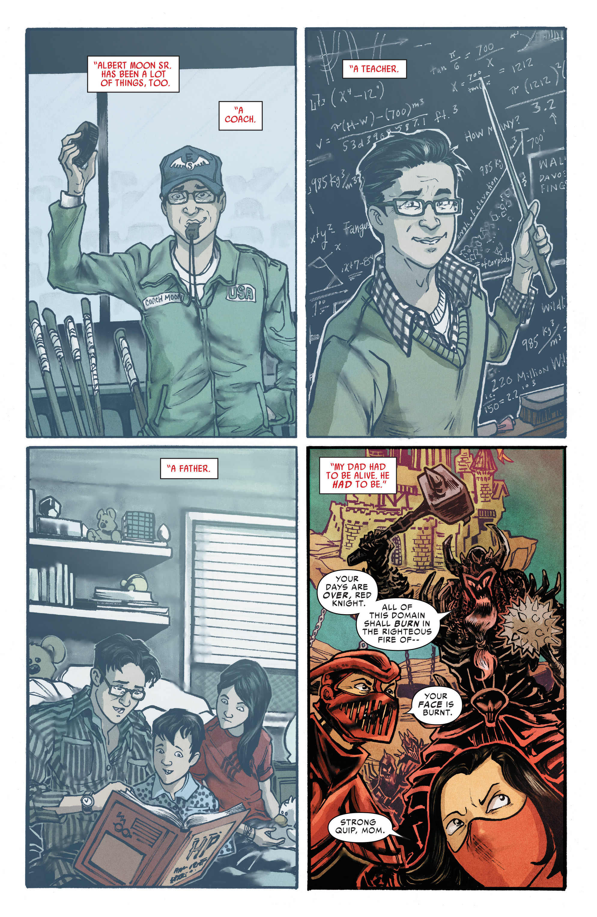 Read online Silk (2016) comic -  Issue #13 - 5