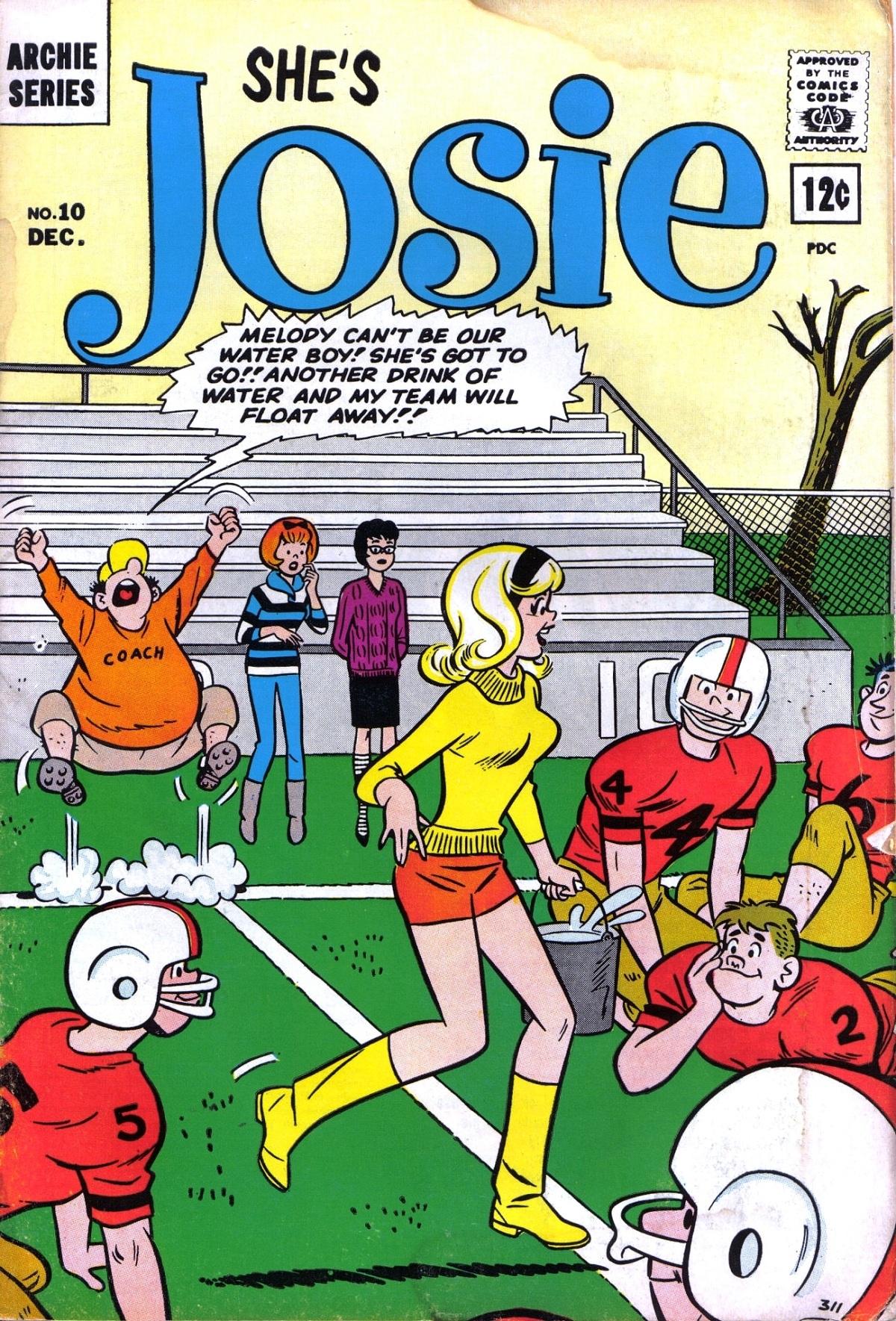 Read online She's Josie comic -  Issue #10 - 1