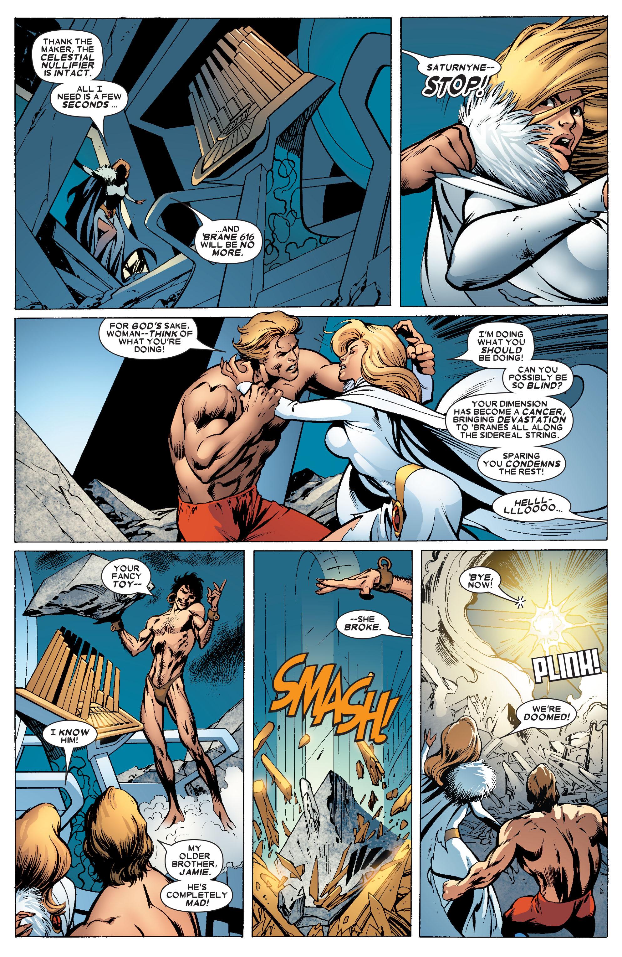 Read online Uncanny X-Men (1963) comic -  Issue #462 - 16