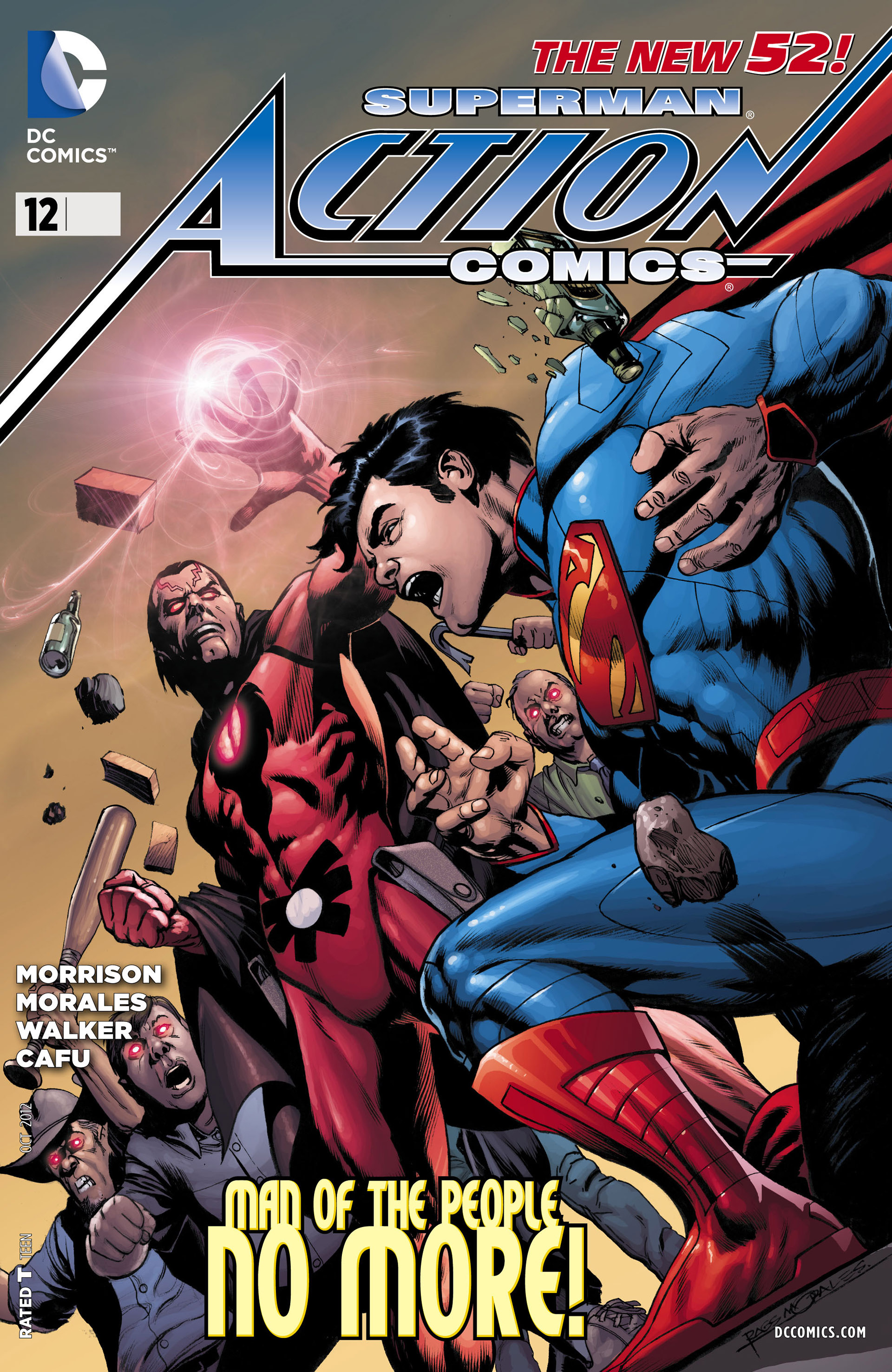 Read online Action Comics (2011) comic -  Issue #12 - 1