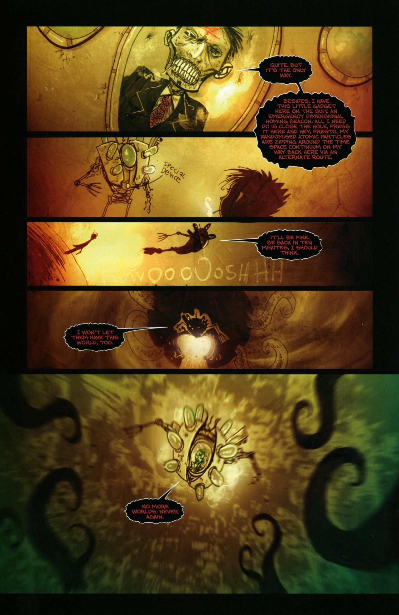 Read online Wormwood: Gentleman Corpse comic -  Issue #10 - 15
