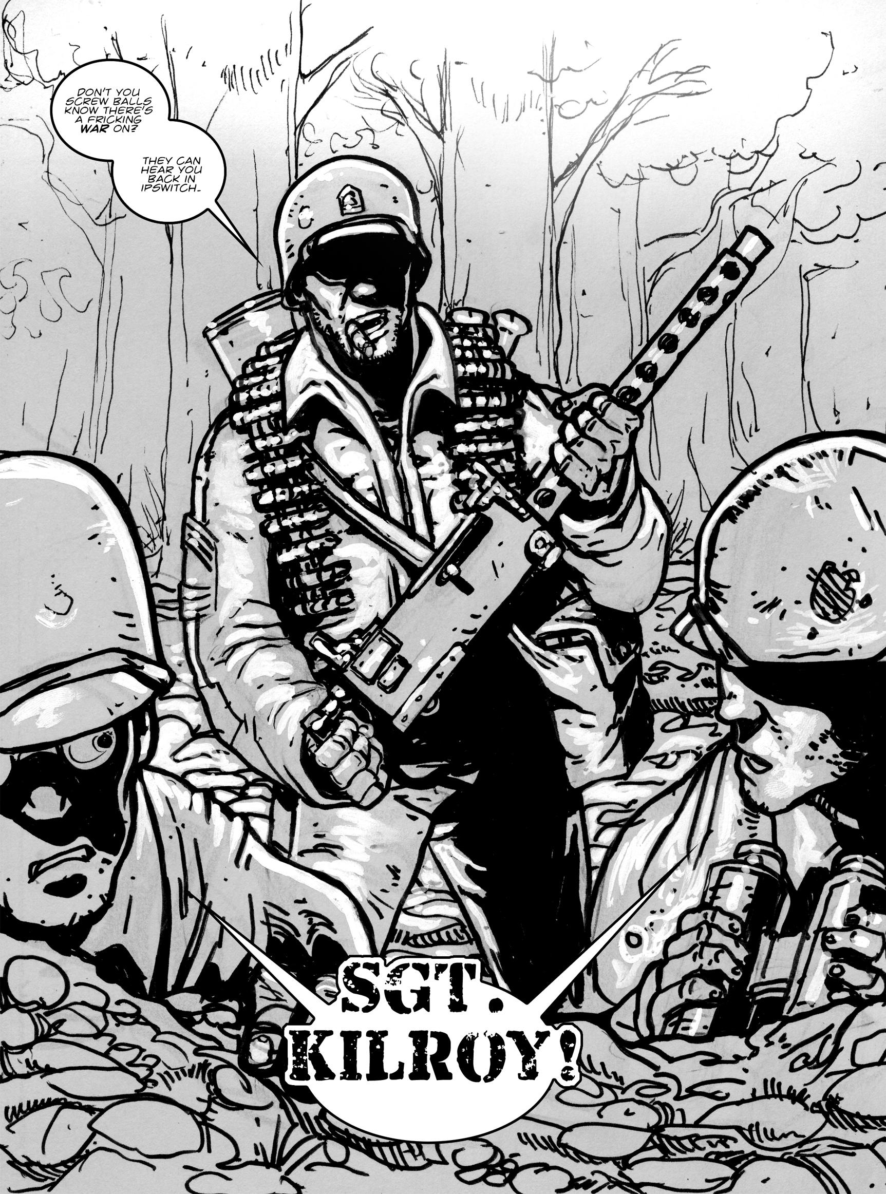 Read online FUBAR comic -  Issue #1 - 35