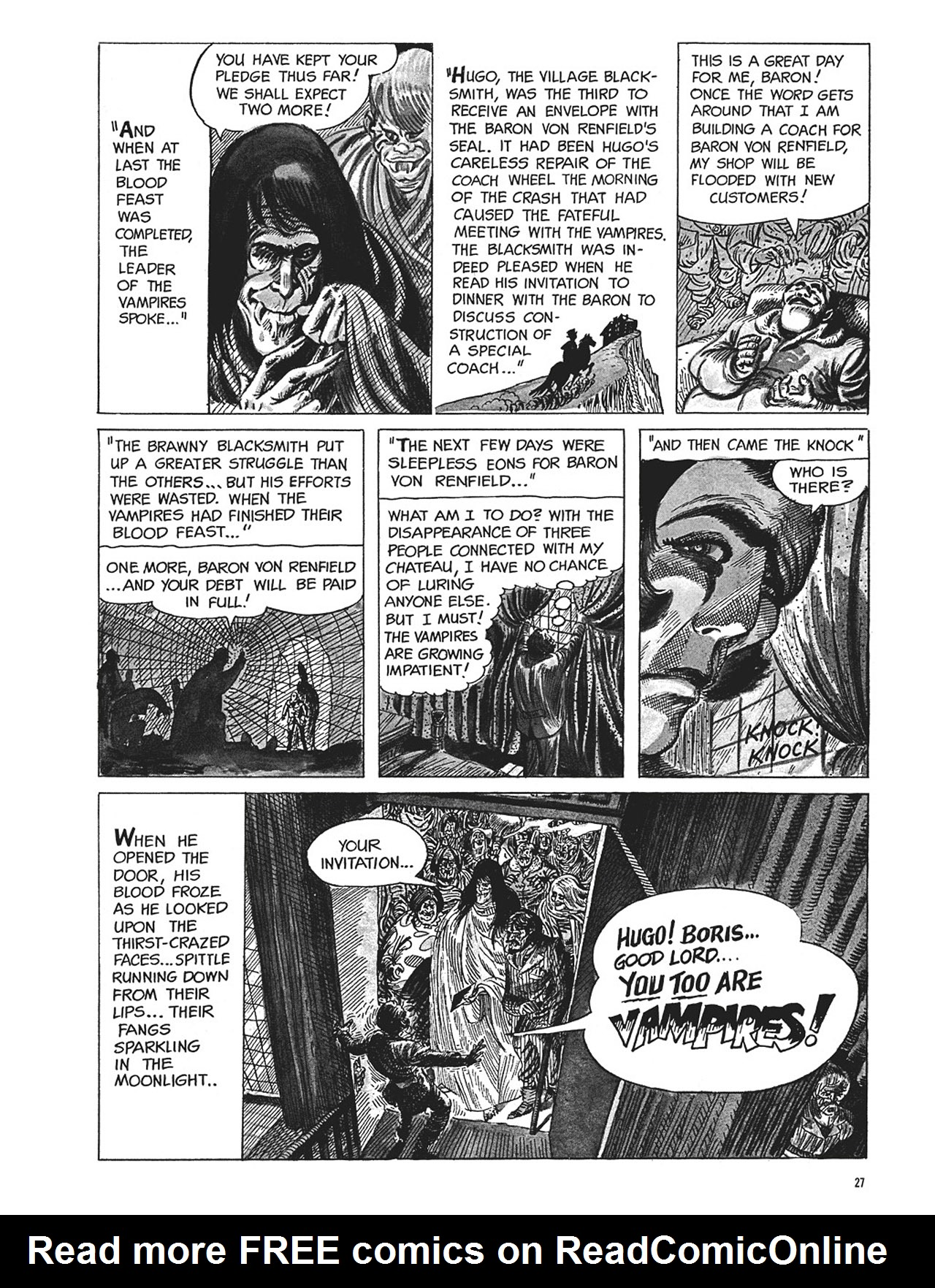 Read online Eerie Archives comic -  Issue # TPB 1 - 28