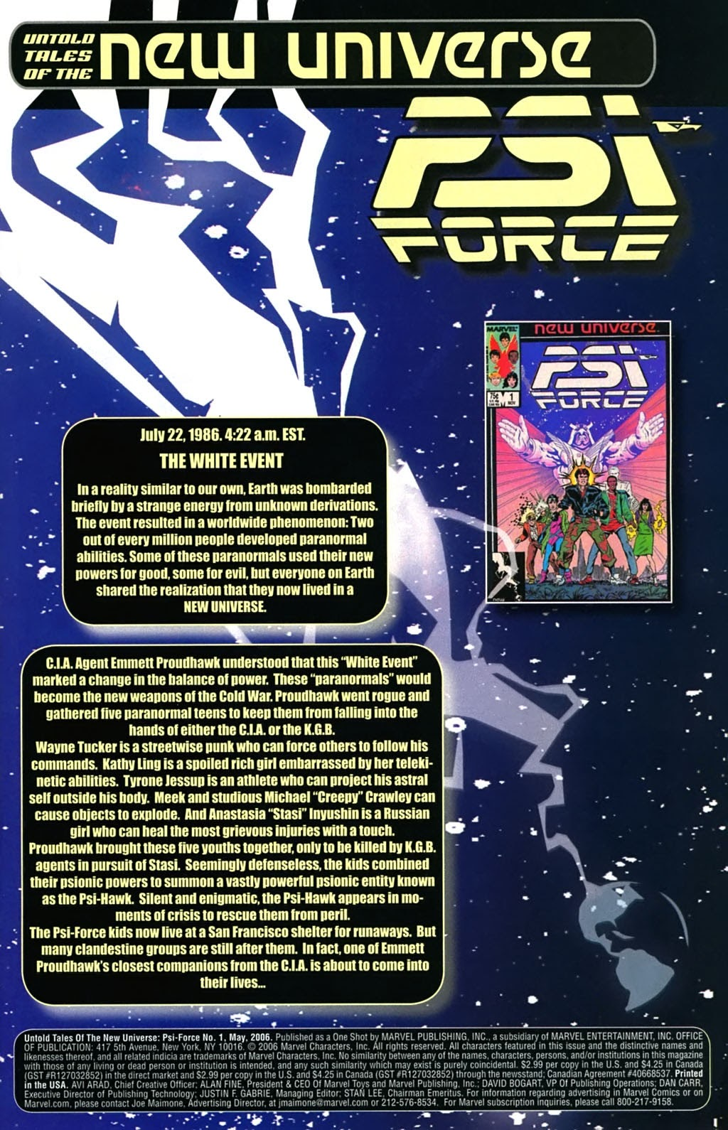 Untold Tales Of The New Universe: Psi-Force Full Page 2