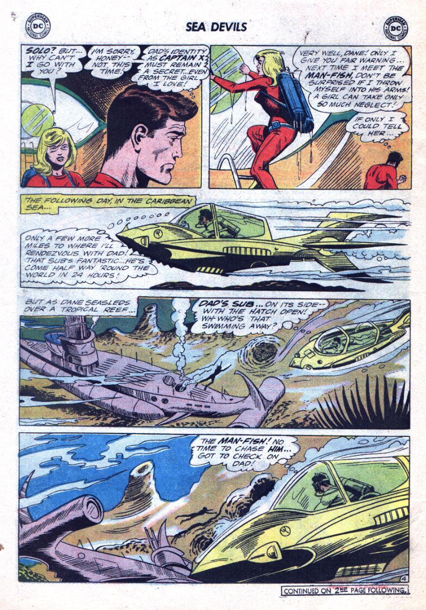 Read online Sea Devils comic -  Issue #24 - 7