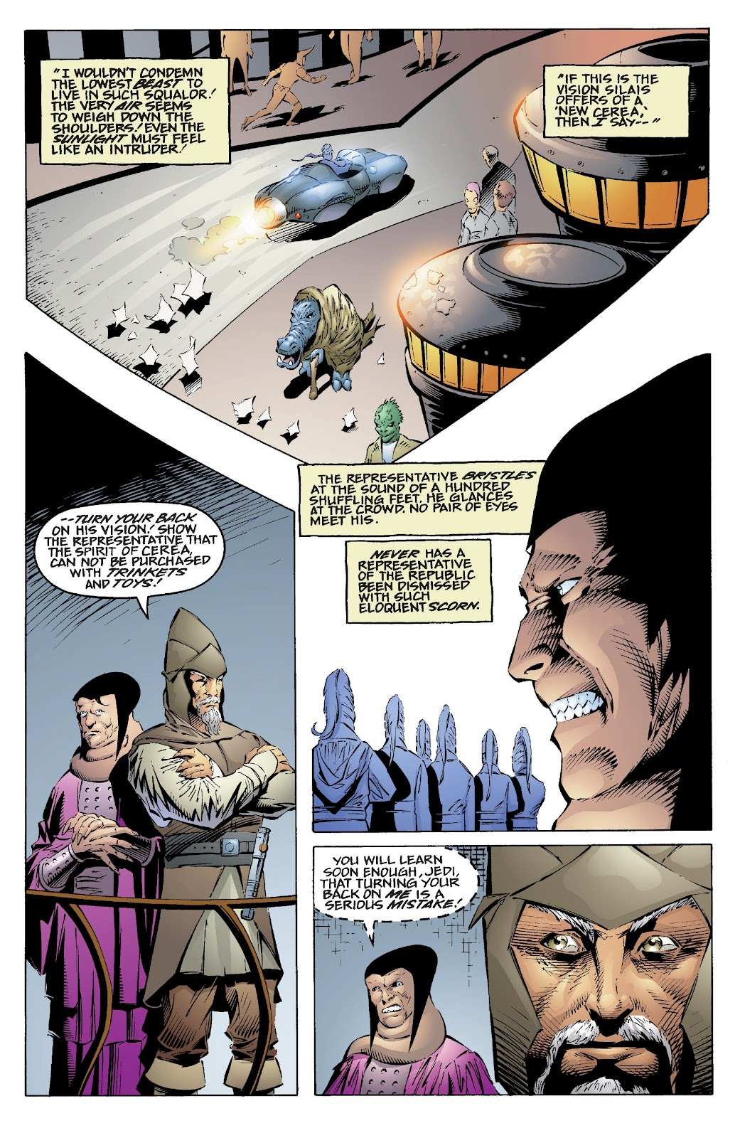 Read online Star Wars Legends: Rise of the Sith - Epic Collection comic -  Issue # TPB 2 (Part 1) - 12