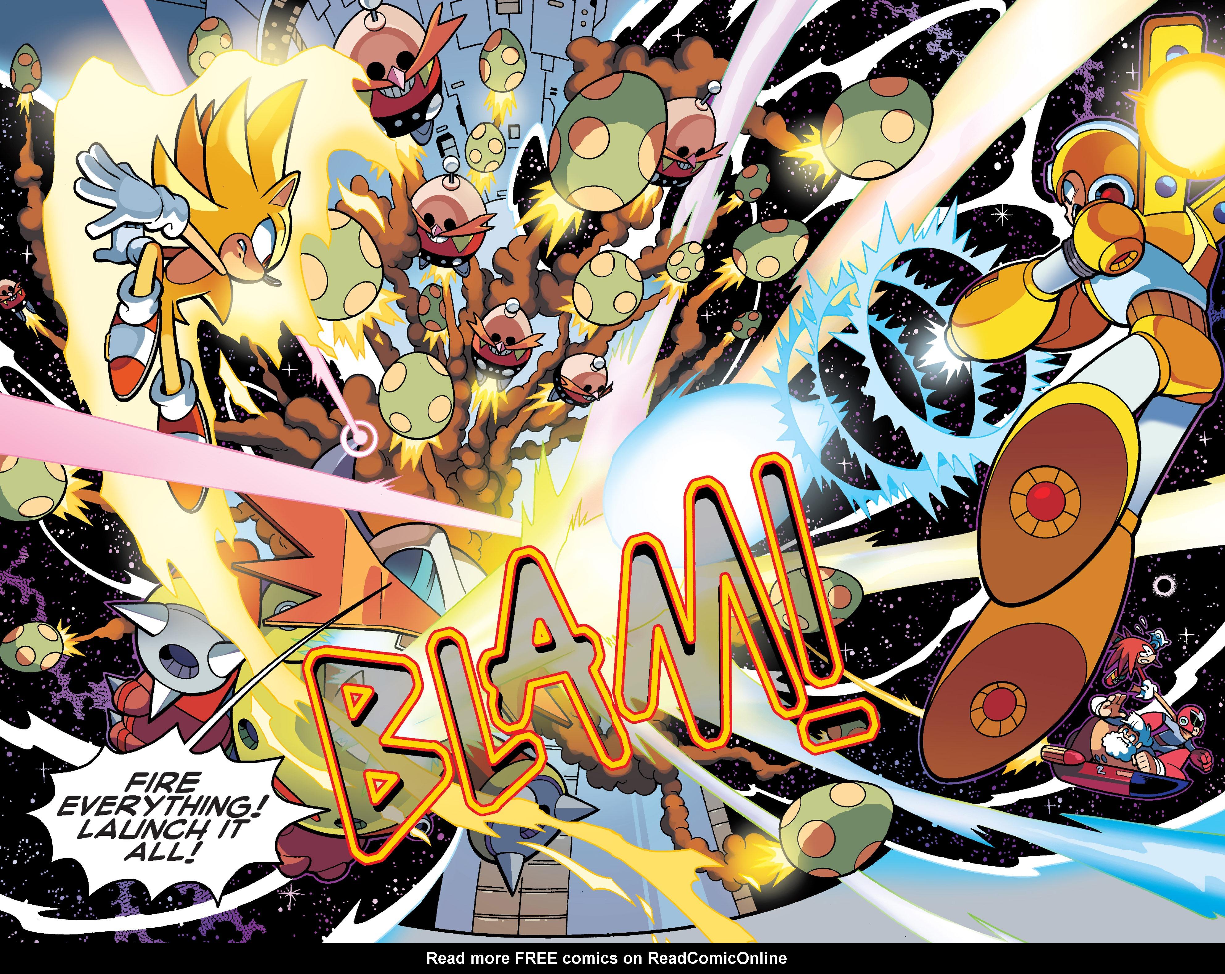 Read online Sonic Mega Man Worlds Collide comic -  Issue # Vol 3 - 109