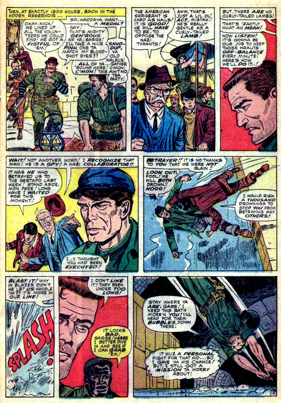 Read online Sgt. Fury comic -  Issue #28 - 17
