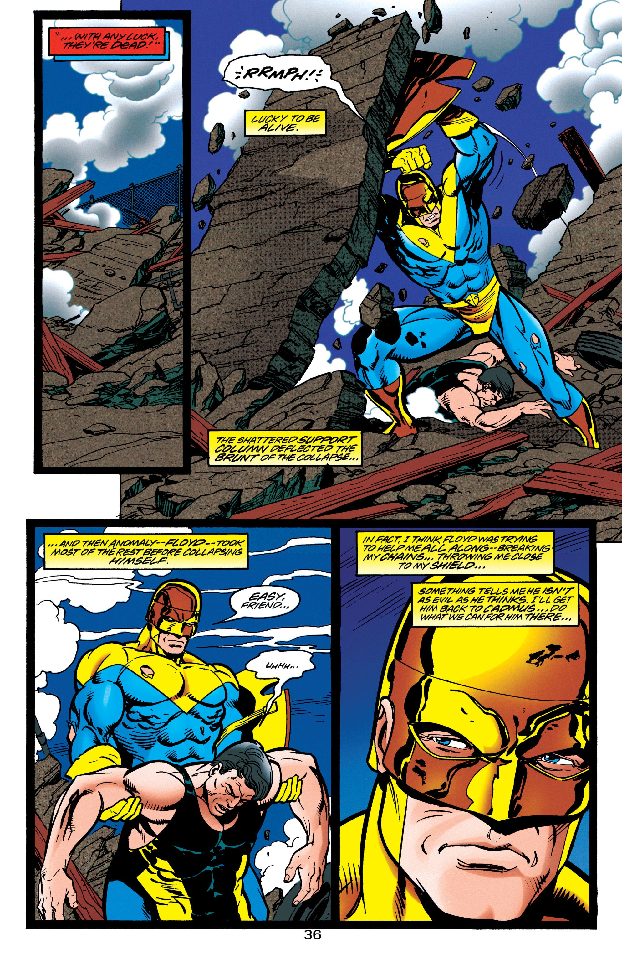 Adventures of Superman (1987) issue 550 - Page 37