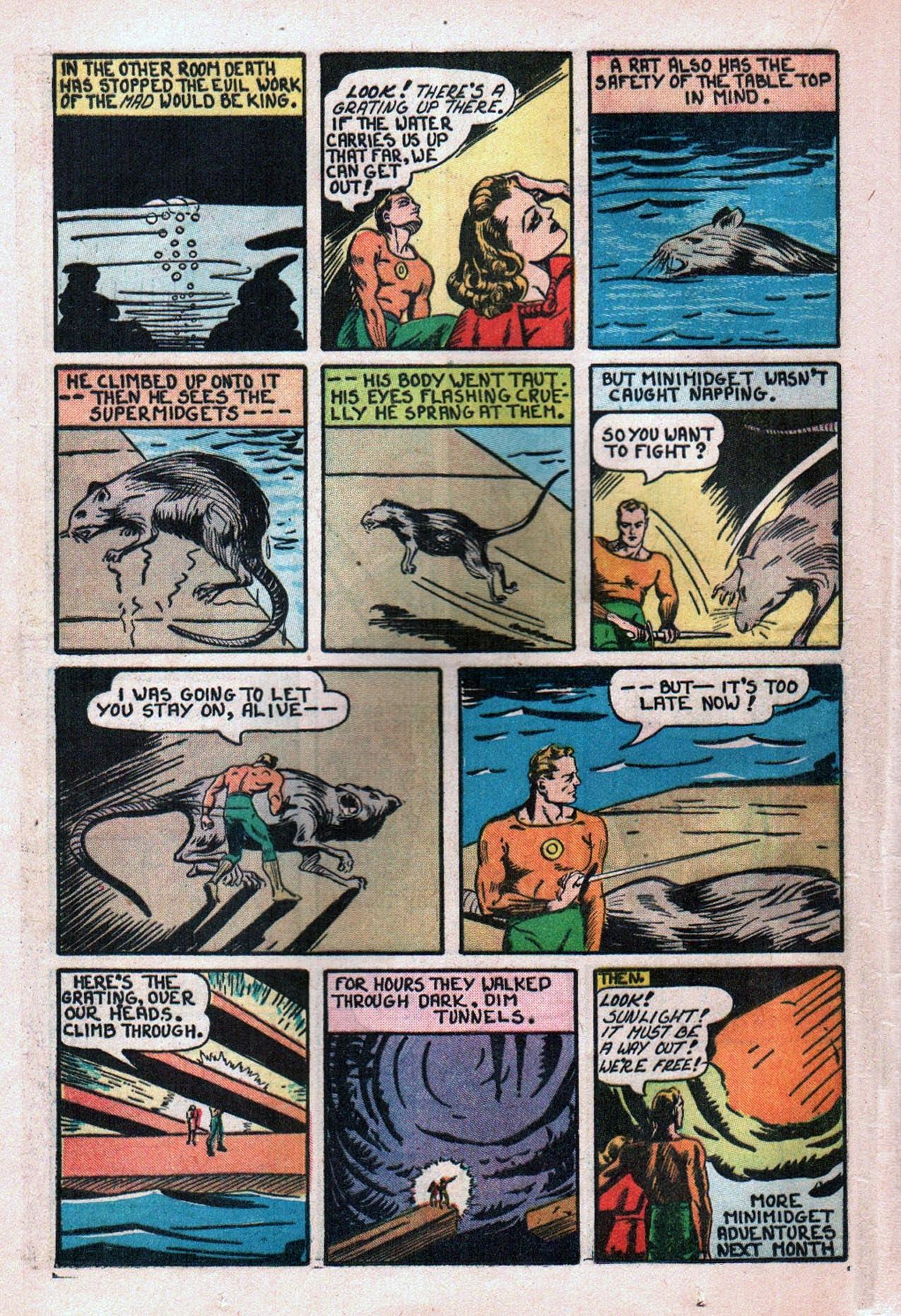 Read online Amazing Man Comics comic -  Issue #20 - 29