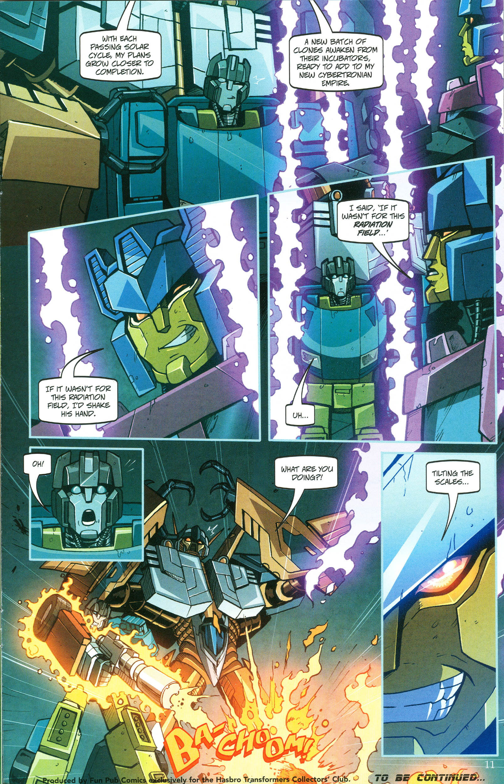 Read online Transformers: Collectors' Club comic -  Issue #47 - 11