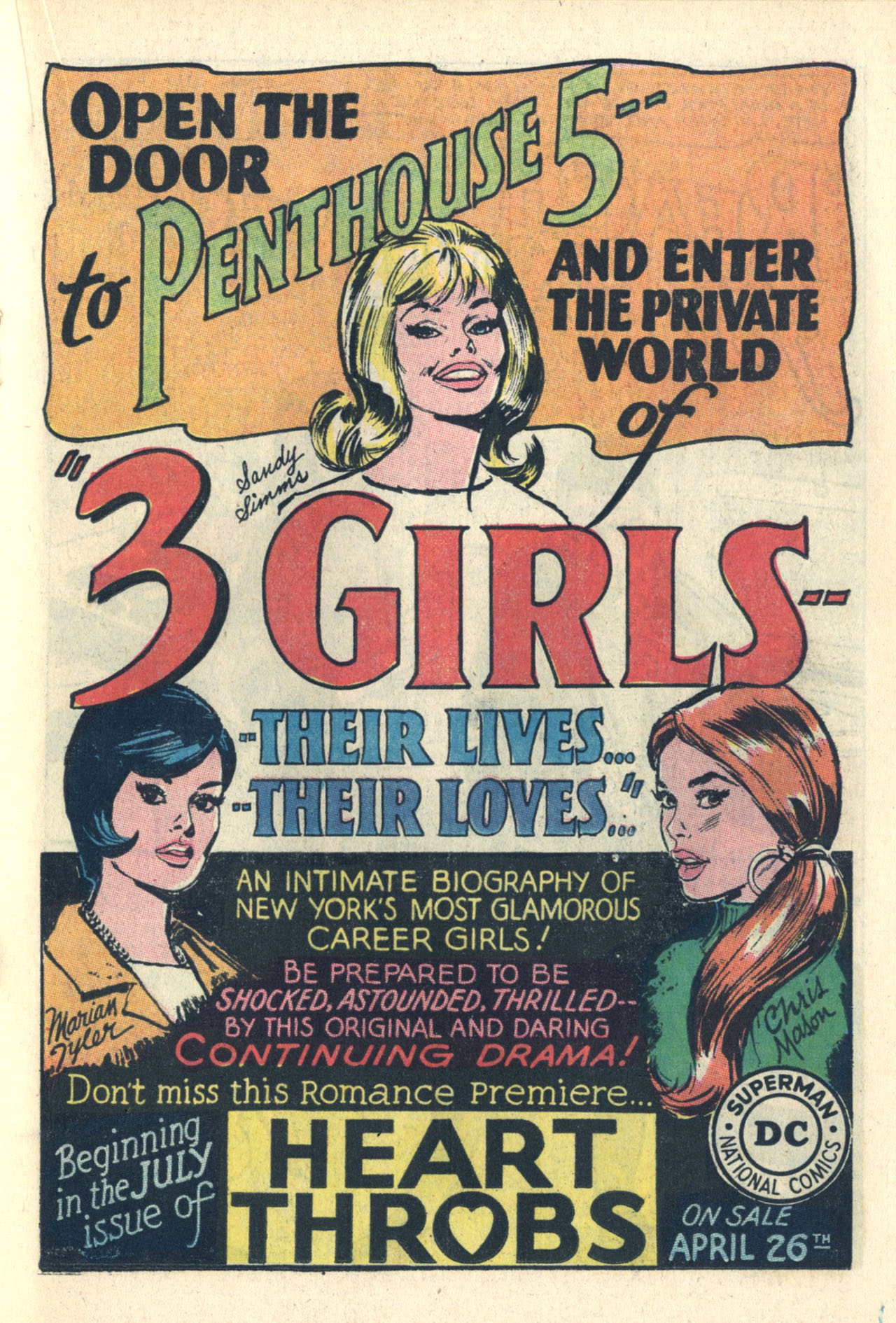 Read online Secret Hearts comic -  Issue #112 - 19