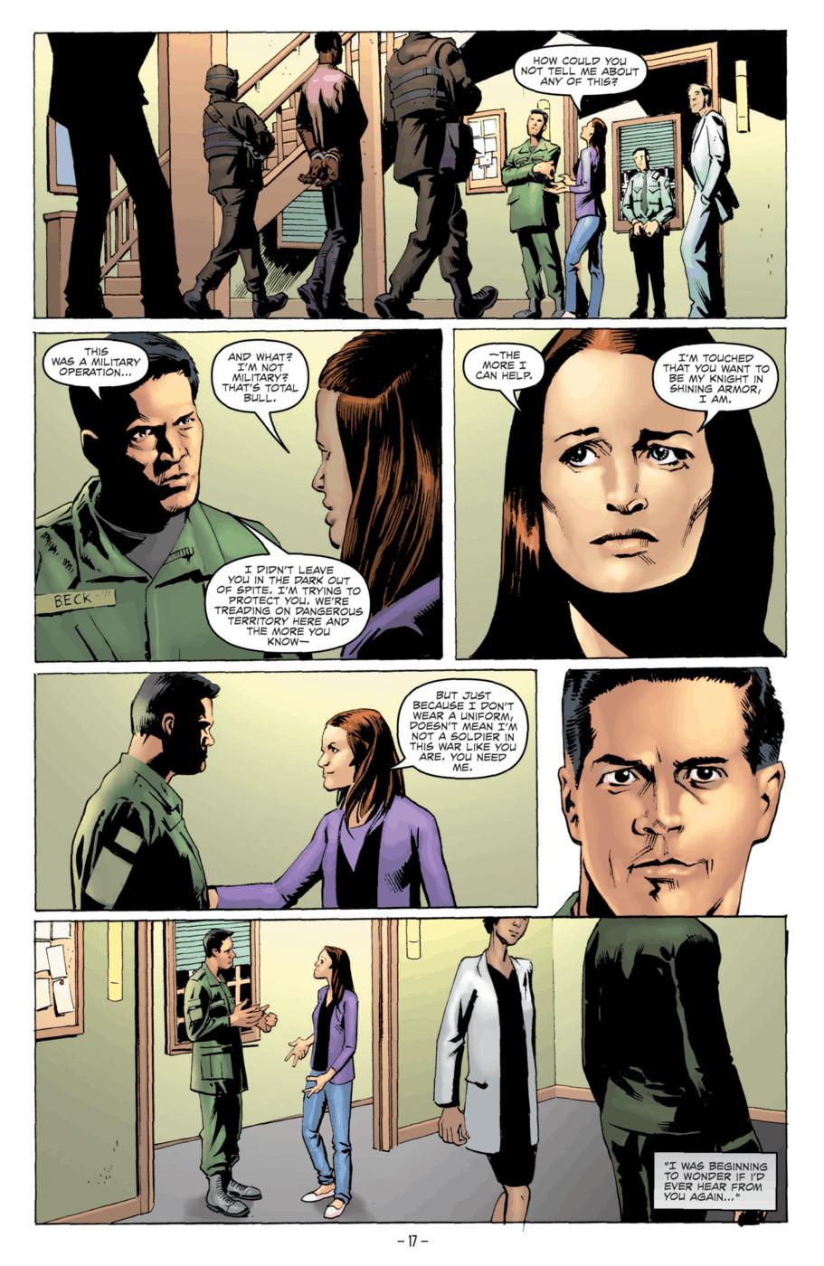 Read online Jericho Season 4 comic -  Issue #2 - 19