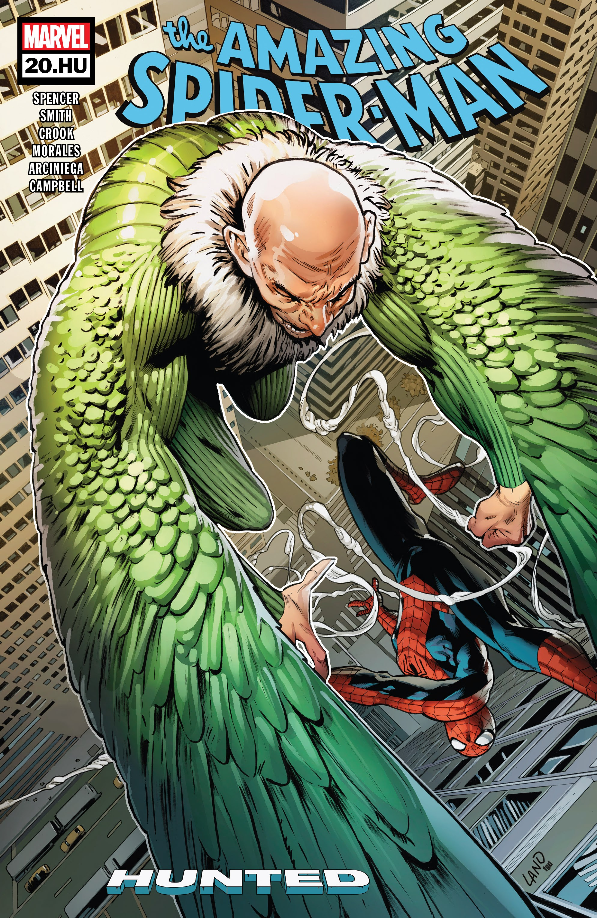 Read online The Amazing Spider-Man (2018) comic -  Issue #20.HU - 1