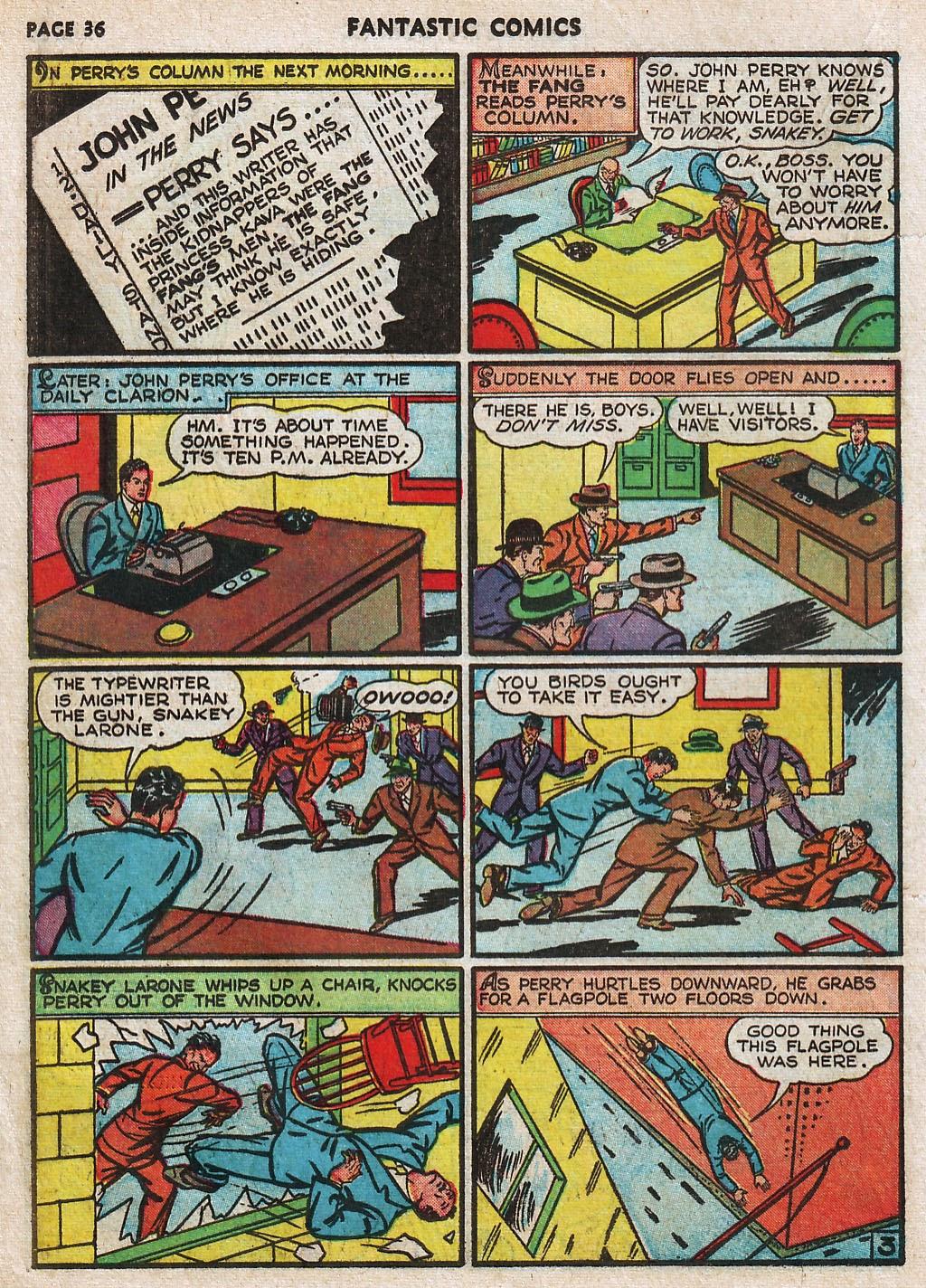 Read online Fantastic Comics comic -  Issue #17 - 37