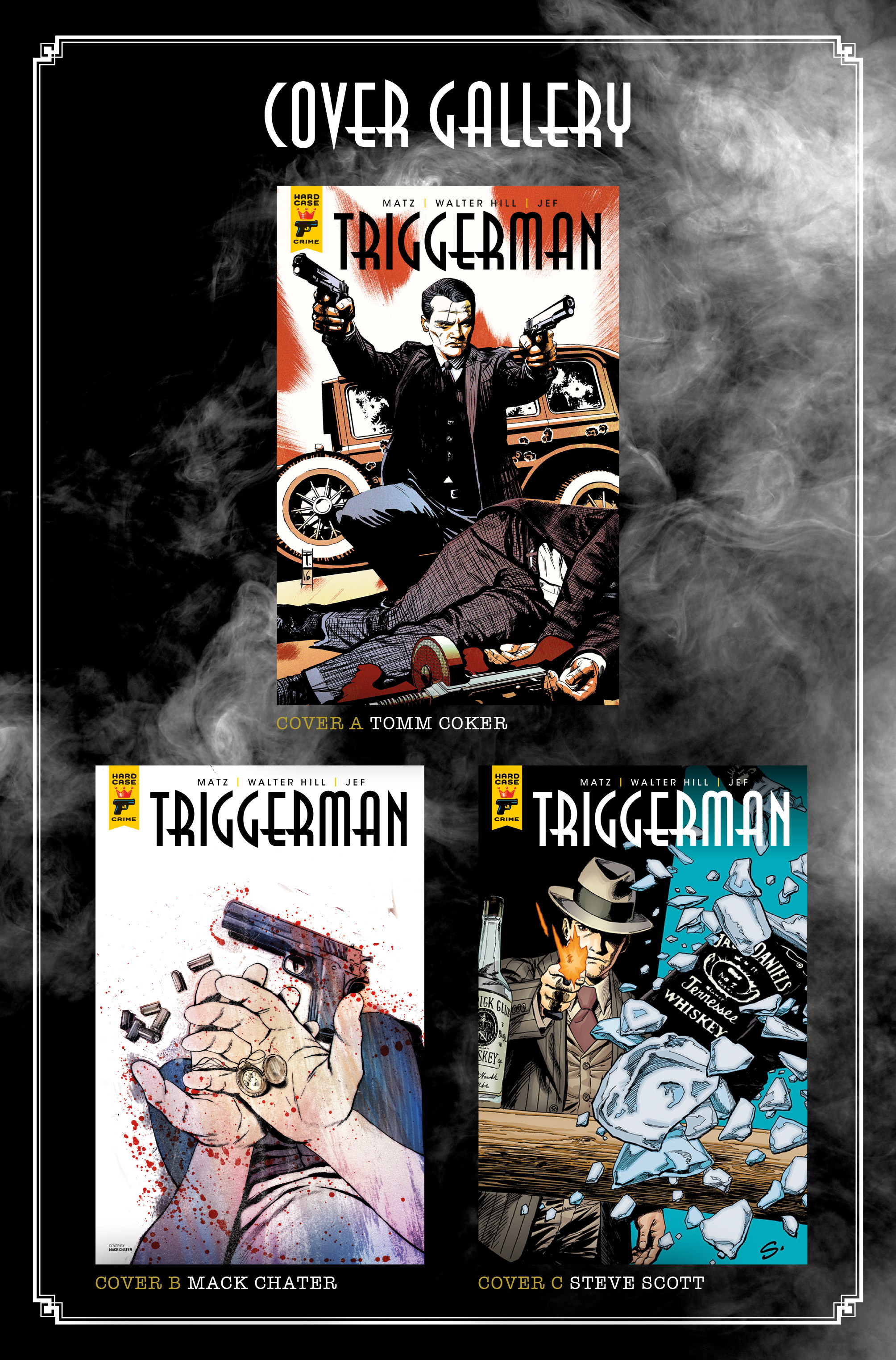 Read online Triggerman comic -  Issue #5 - 30
