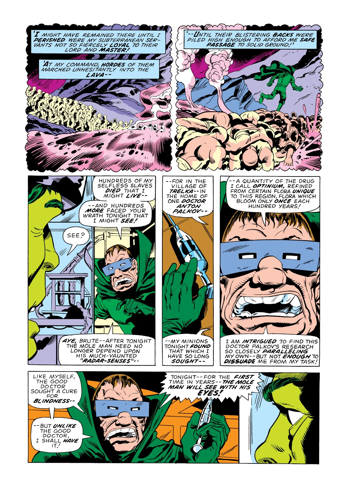 Read online Marvel Masterworks: The Incredible Hulk comic -  Issue # TPB 11 (Part 2) - 12