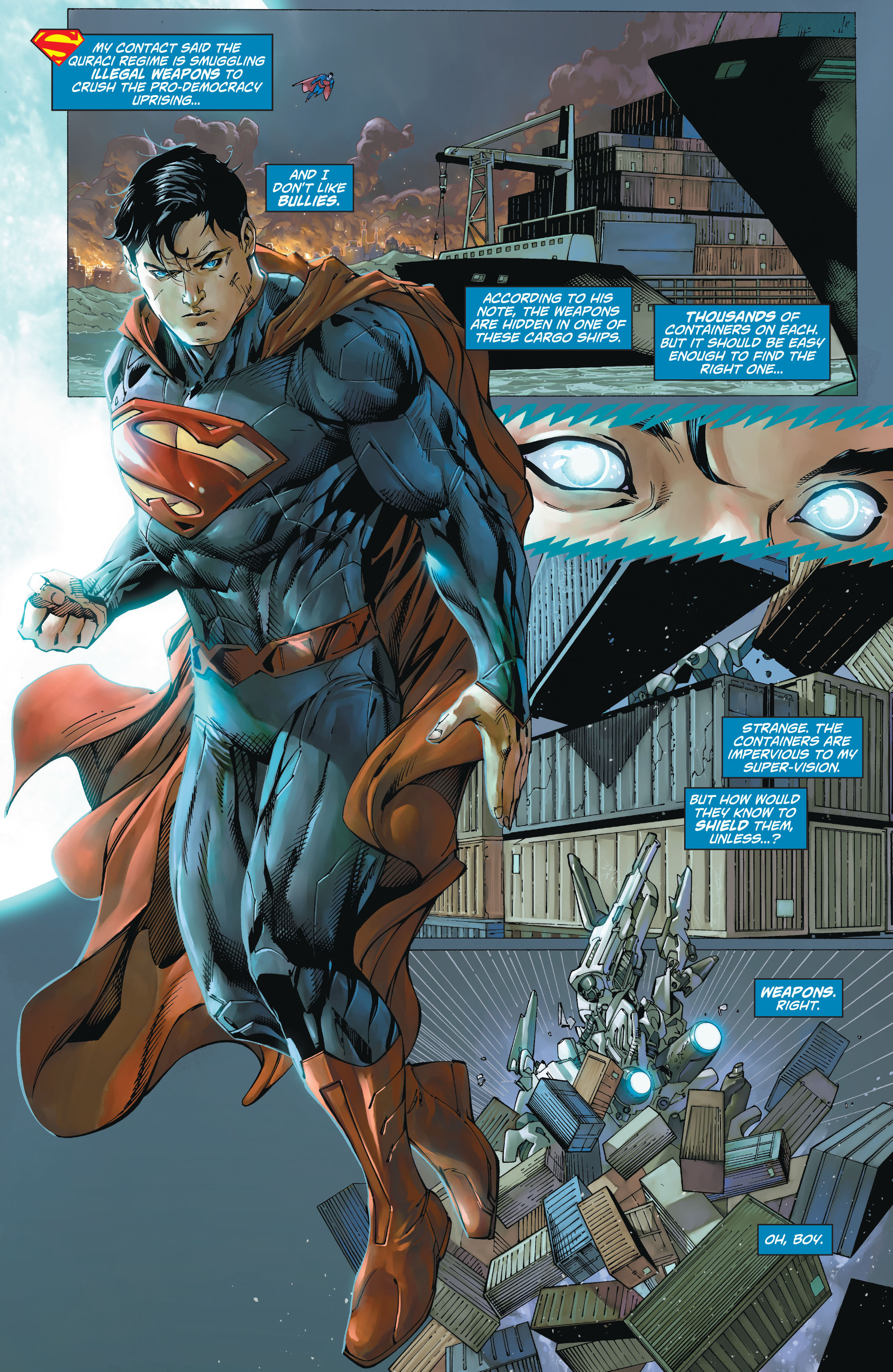 Read online Action Comics (2011) comic -  Issue #19 - 8