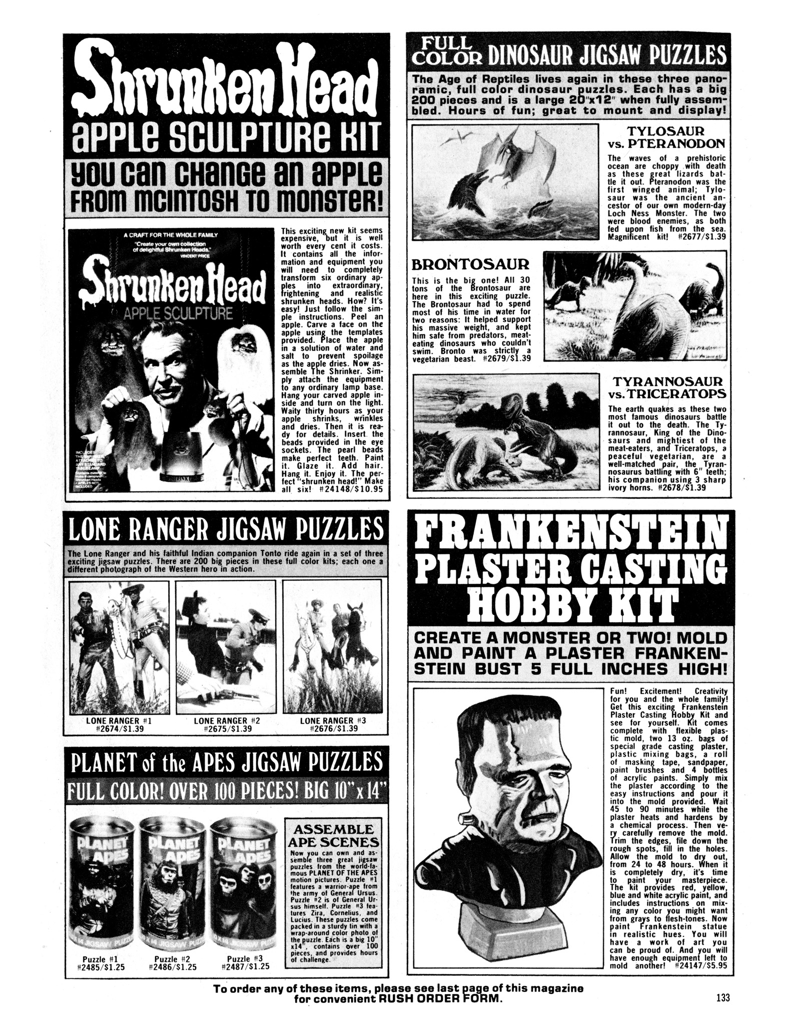 Read online Eerie Archives comic -  Issue # TPB 14 - 134