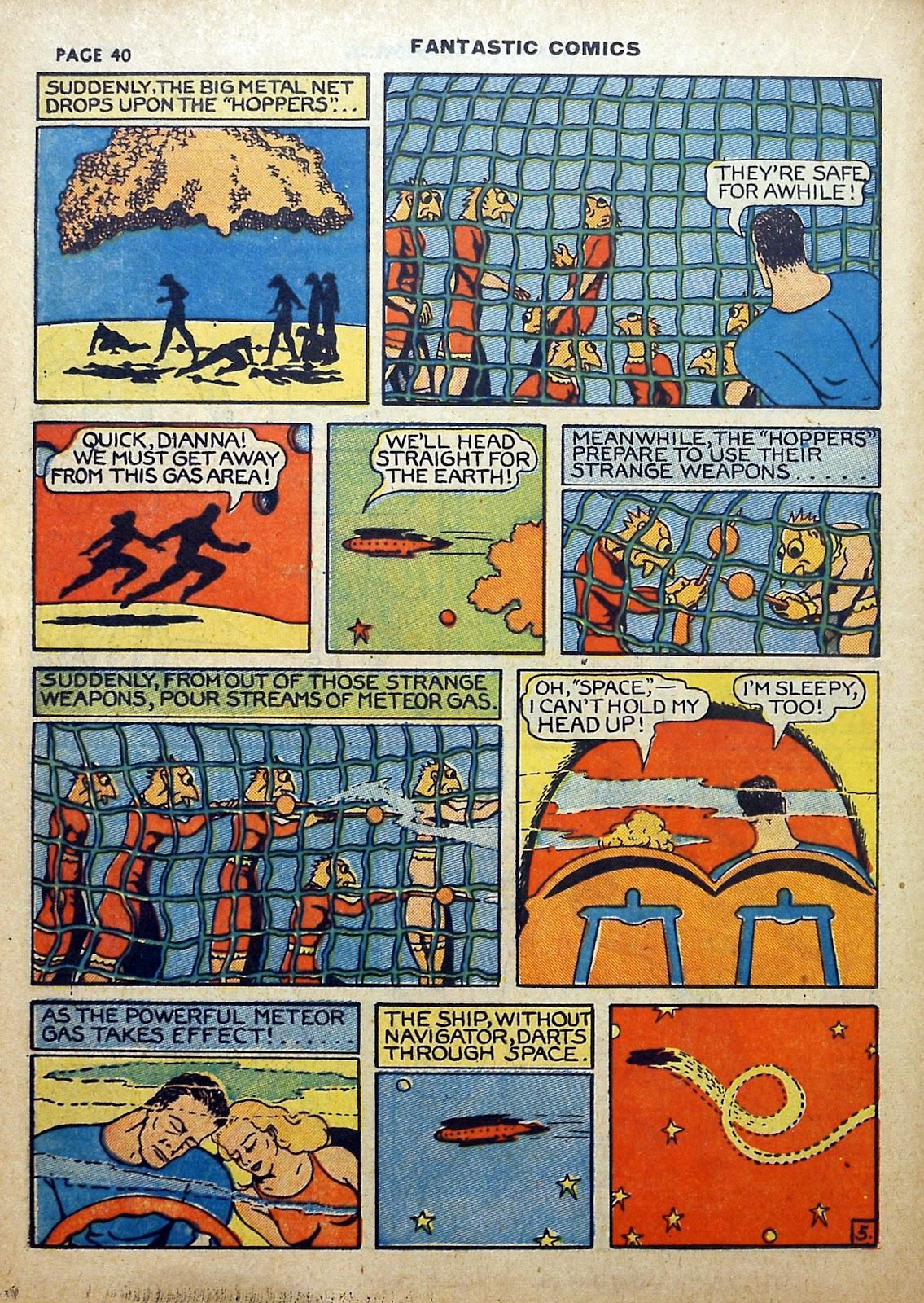 Read online Fantastic Comics comic -  Issue #5 - 41