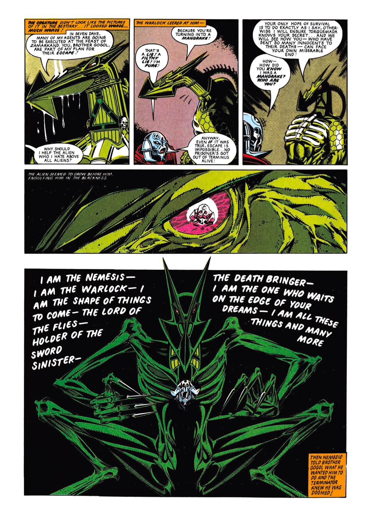 Read online Nemesis The Warlock comic -  Issue # TPB Deviant Edition - 46