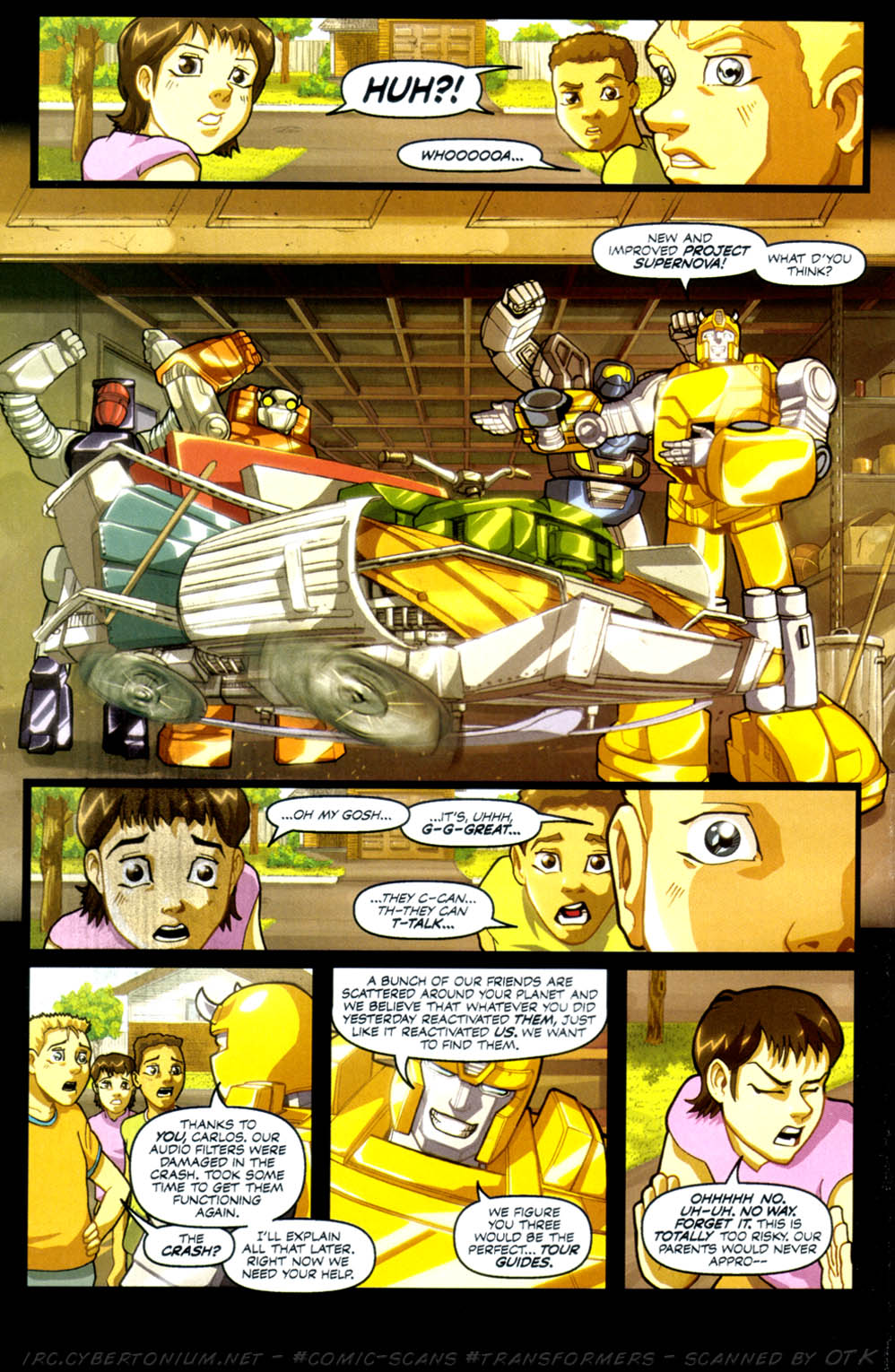 Read online Transformers Armada comic -  Issue #3 - 24