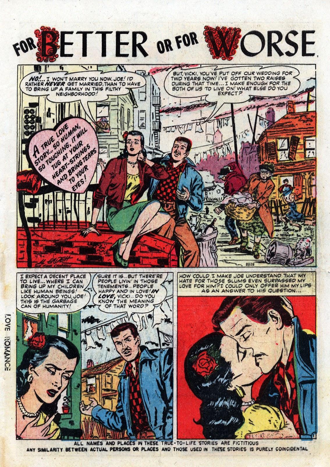 Love Romances (1949) issue 19 - Page 3