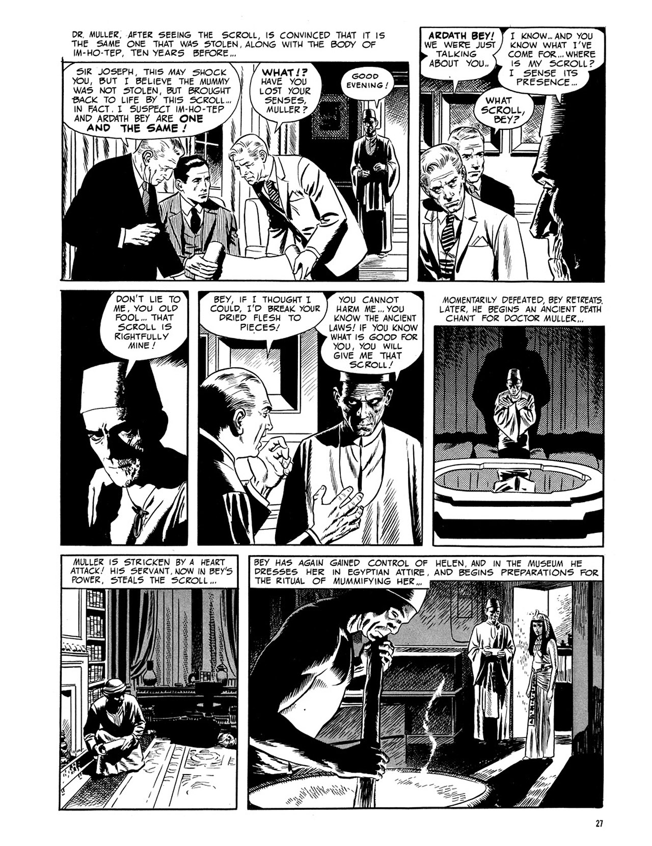 Read online Eerie Archives comic -  Issue # TPB 3 - 28