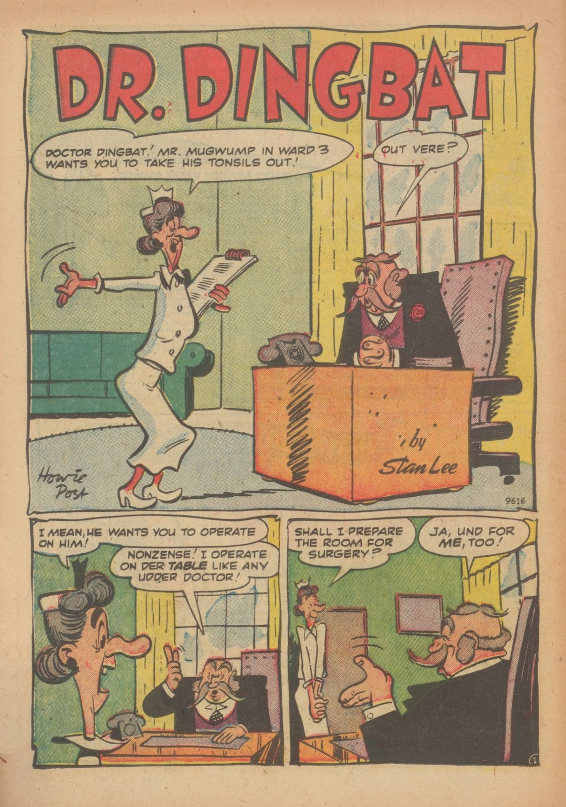 Read online Nellie The Nurse (1945) comic -  Issue #33 - 26