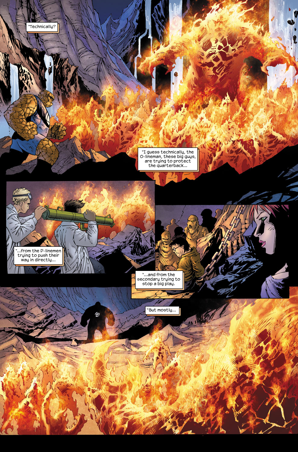 Read online Ultimate Fantastic Four (2004) comic -  Issue #58 - 16