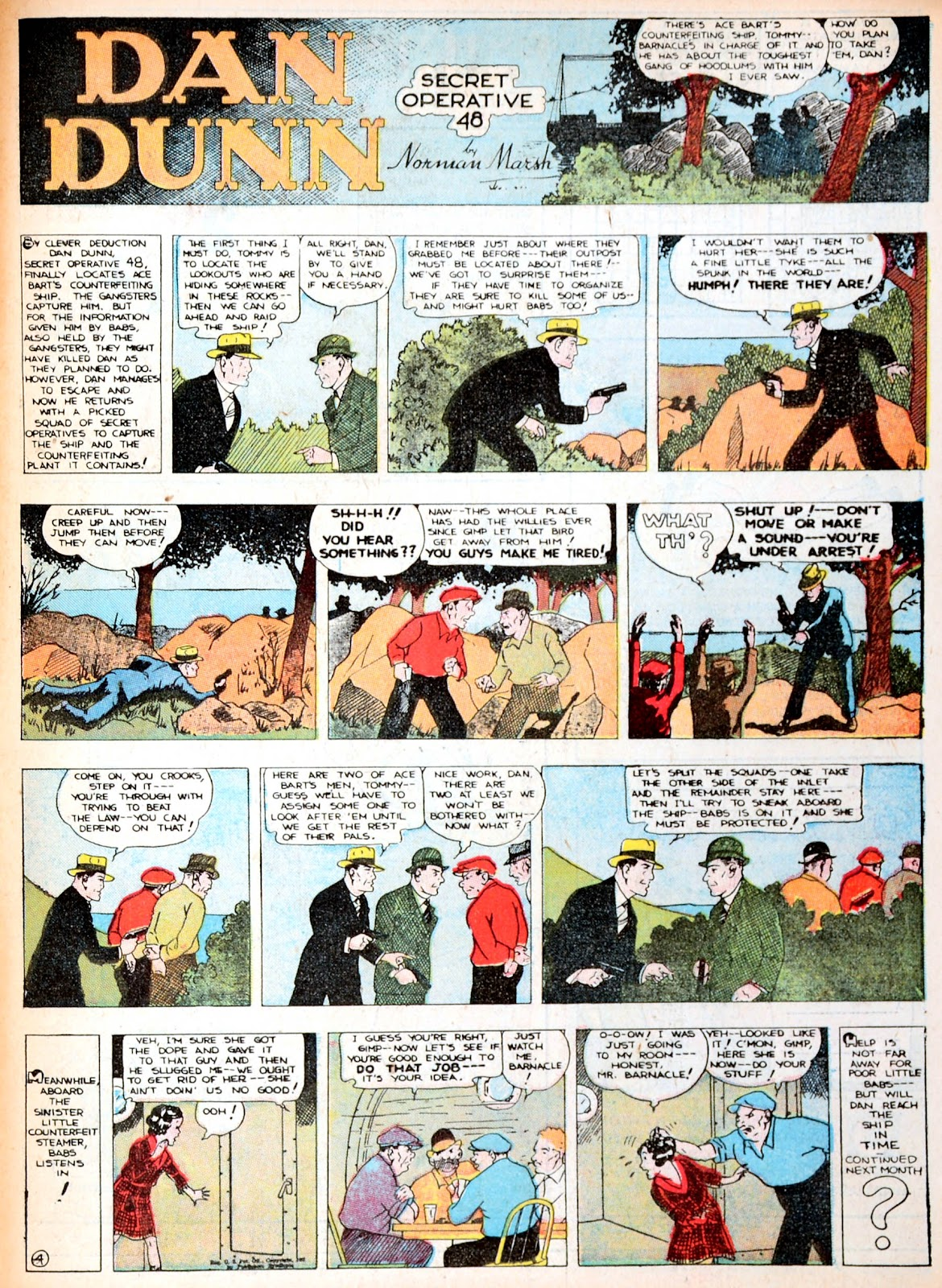Read online Famous Funnies comic -  Issue #13 - 58