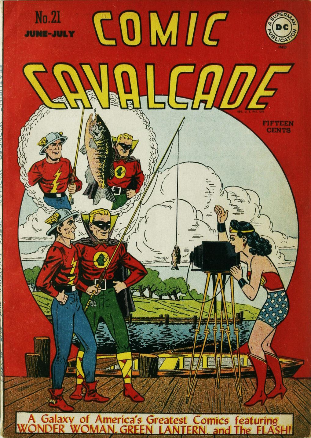 Comic Cavalcade issue 21 - Page 2