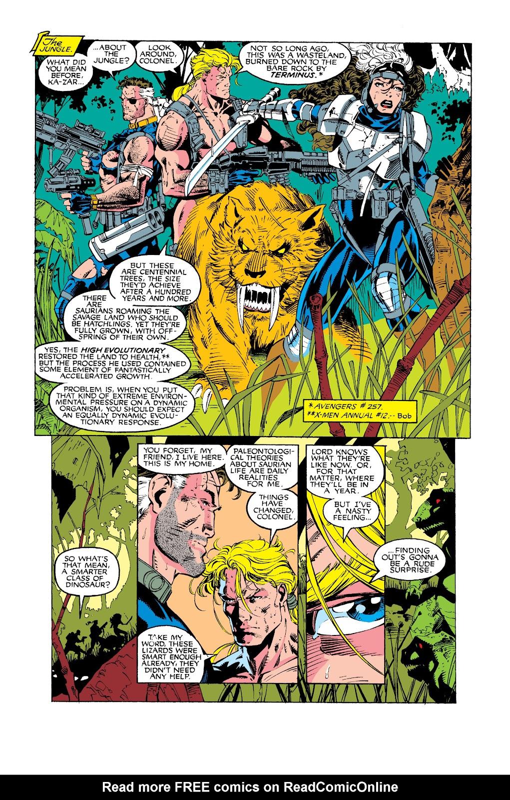 Uncanny X-Men (1963) issue 275 - Page 21